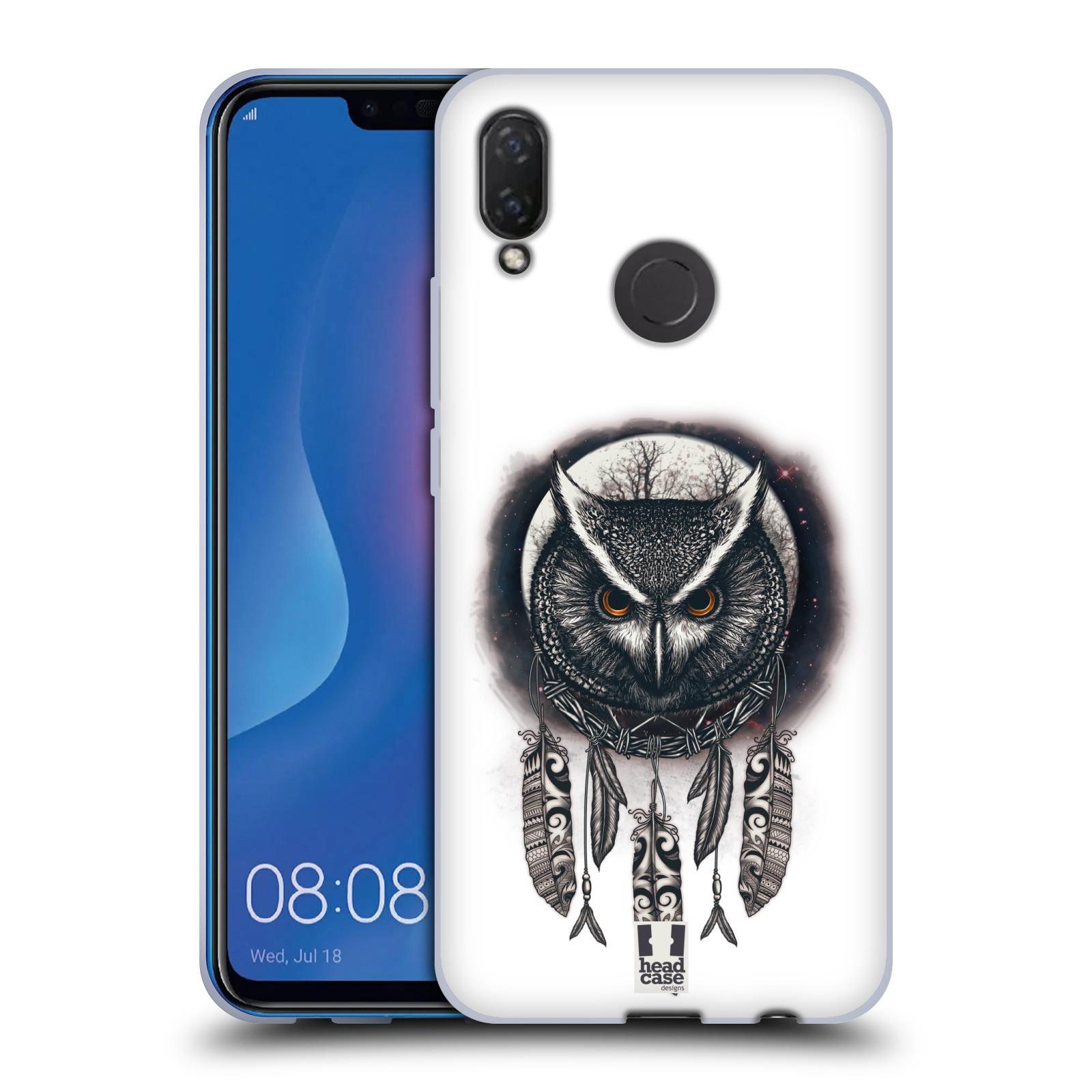 Silikonové pouzdro na mobil Huawei Nova 3i - Head Case - Soví lapač