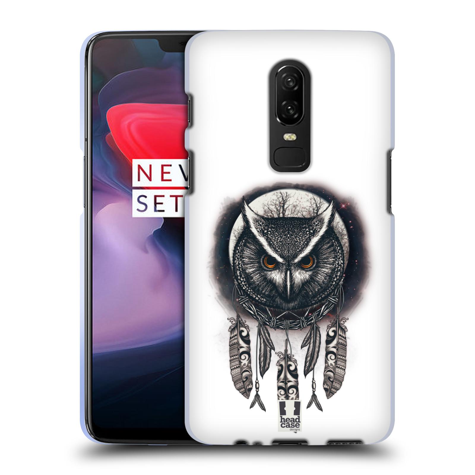 Silikonové pouzdro na mobil OnePlus 6 - Head Case - Soví lapač