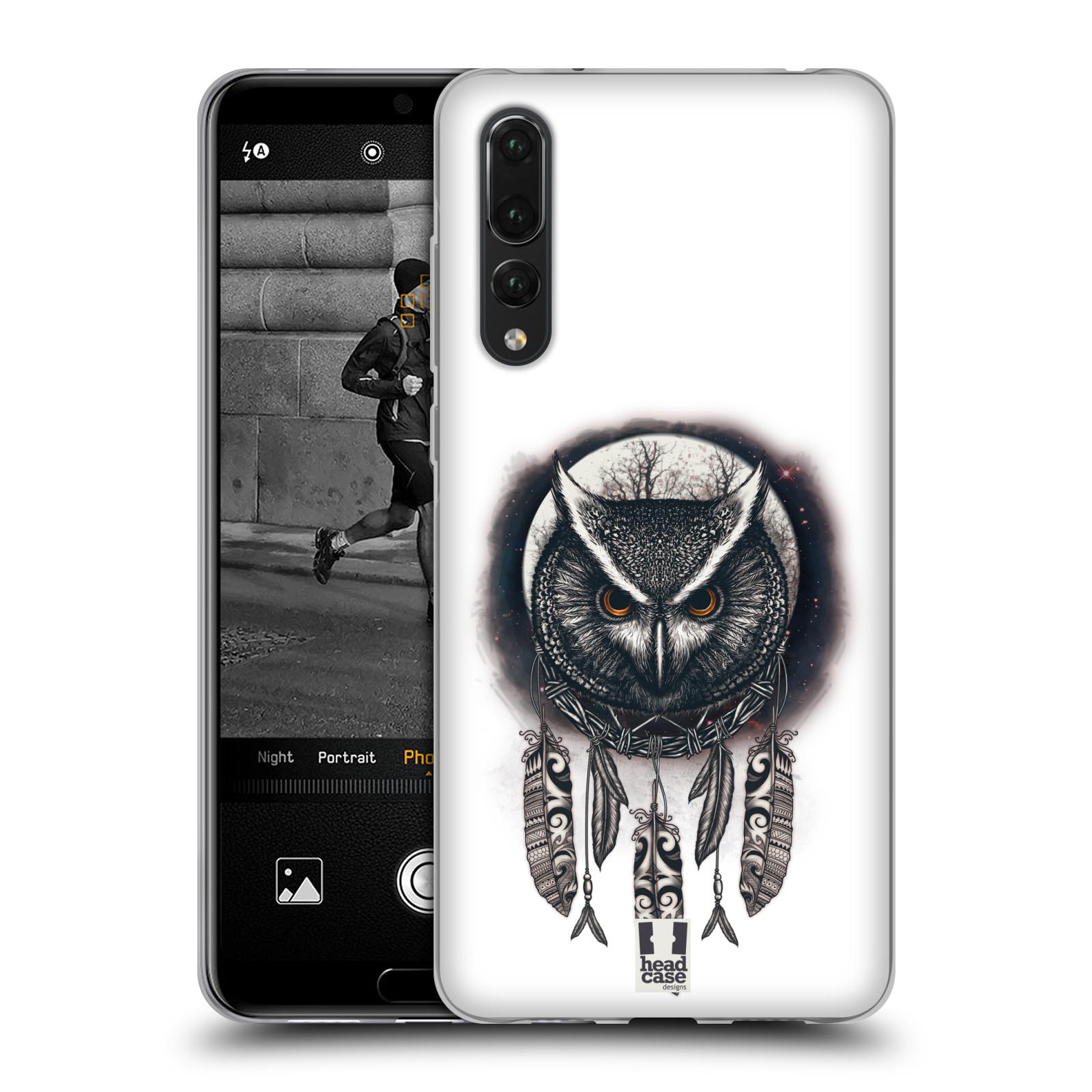Silikonové pouzdro na mobil Huawei P20 Pro - Head Case - Soví lapač