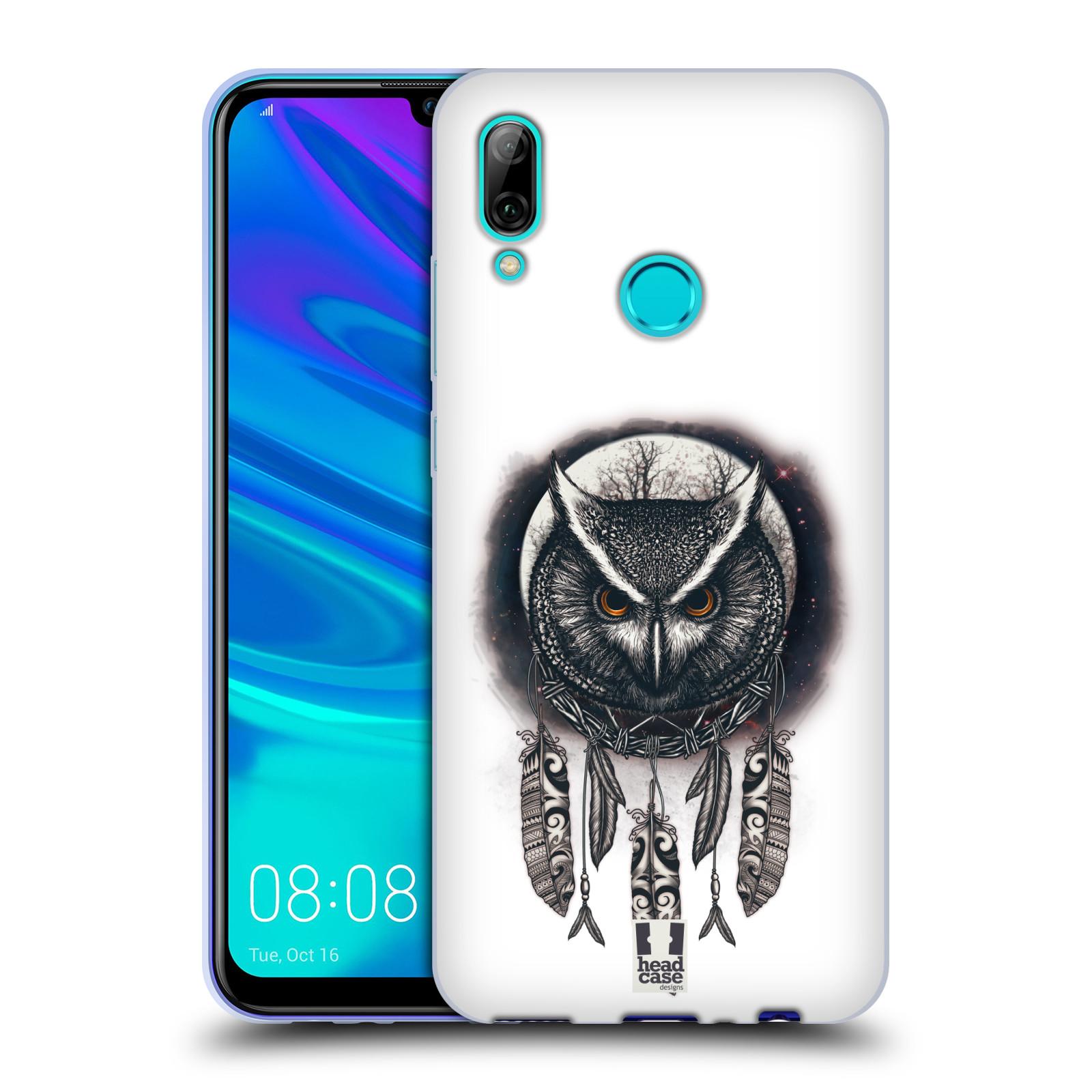 Silikonové pouzdro na mobil Huawei P Smart (2019) - Head Case - Soví lapač