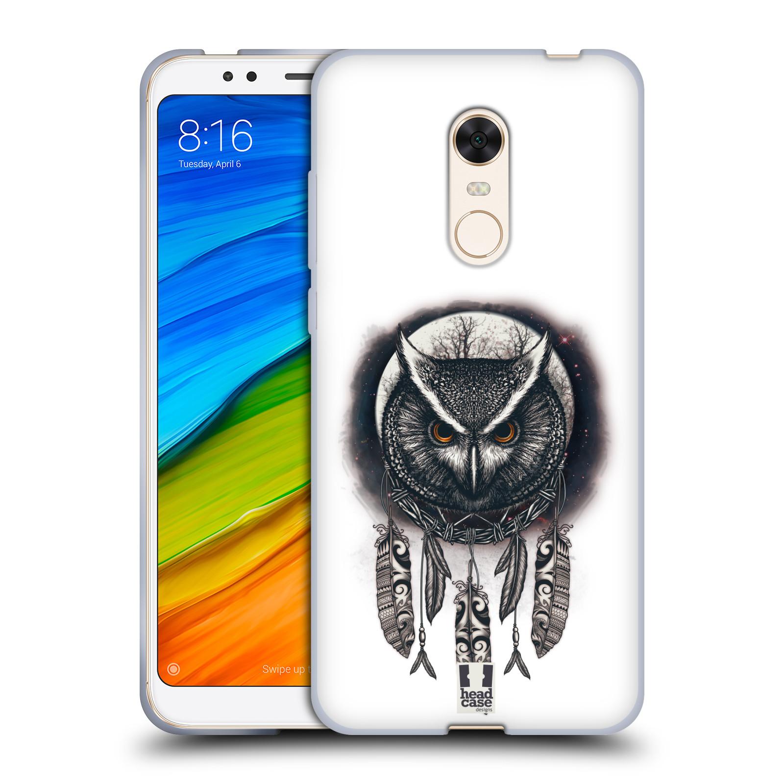 Silikonové pouzdro na mobil Xiaomi Redmi 5 Plus - Head Case - Soví lapač