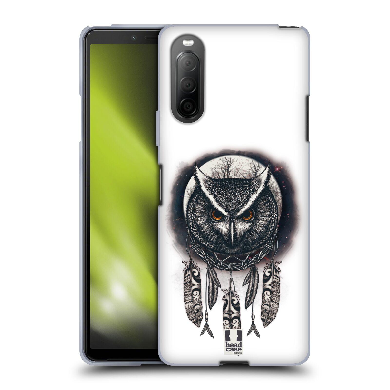 Silikonové pouzdro na mobil Sony Xperia 10 II - Head Case - Soví lapač