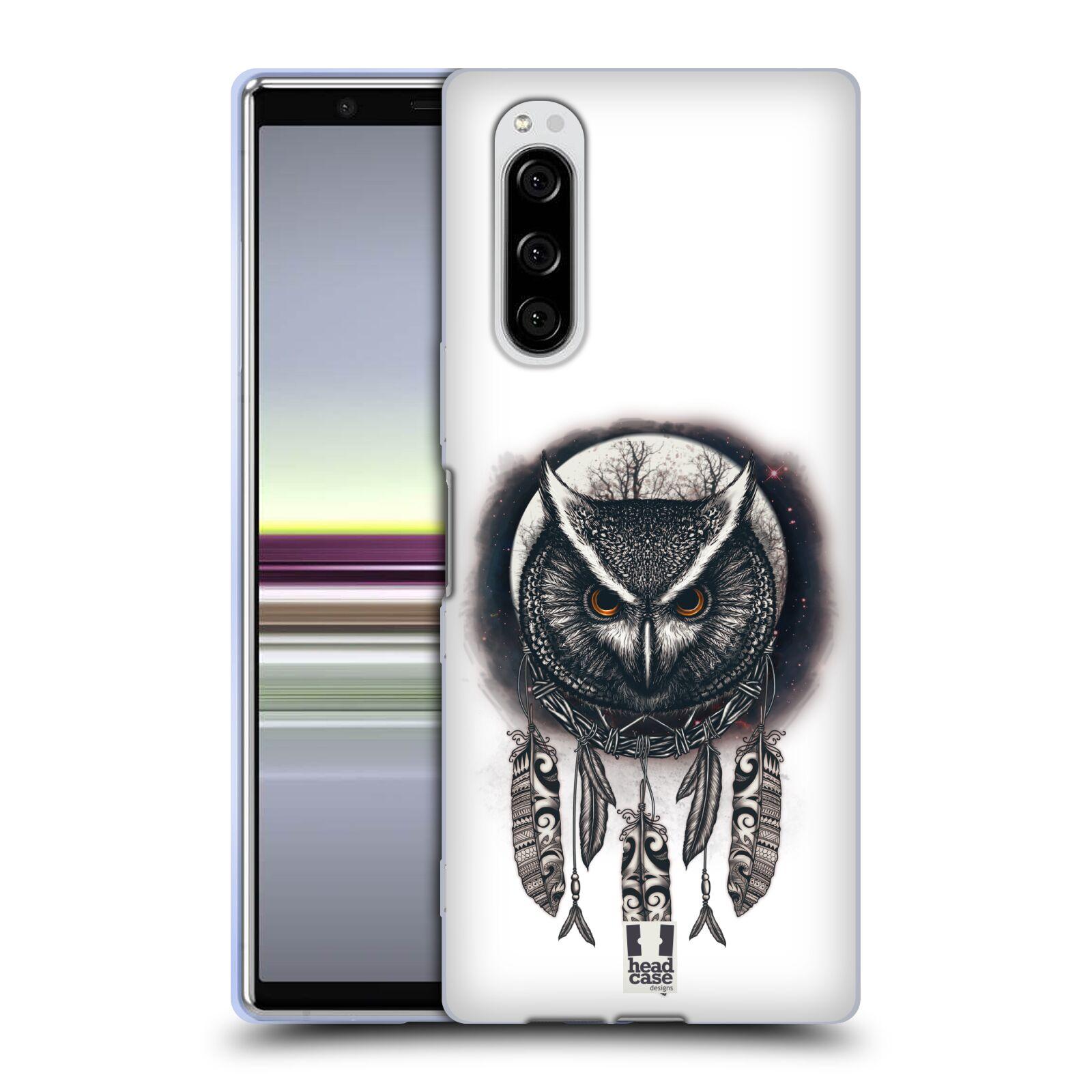 Silikonové pouzdro na mobil Sony Xperia 5 - Head Case - Soví lapač