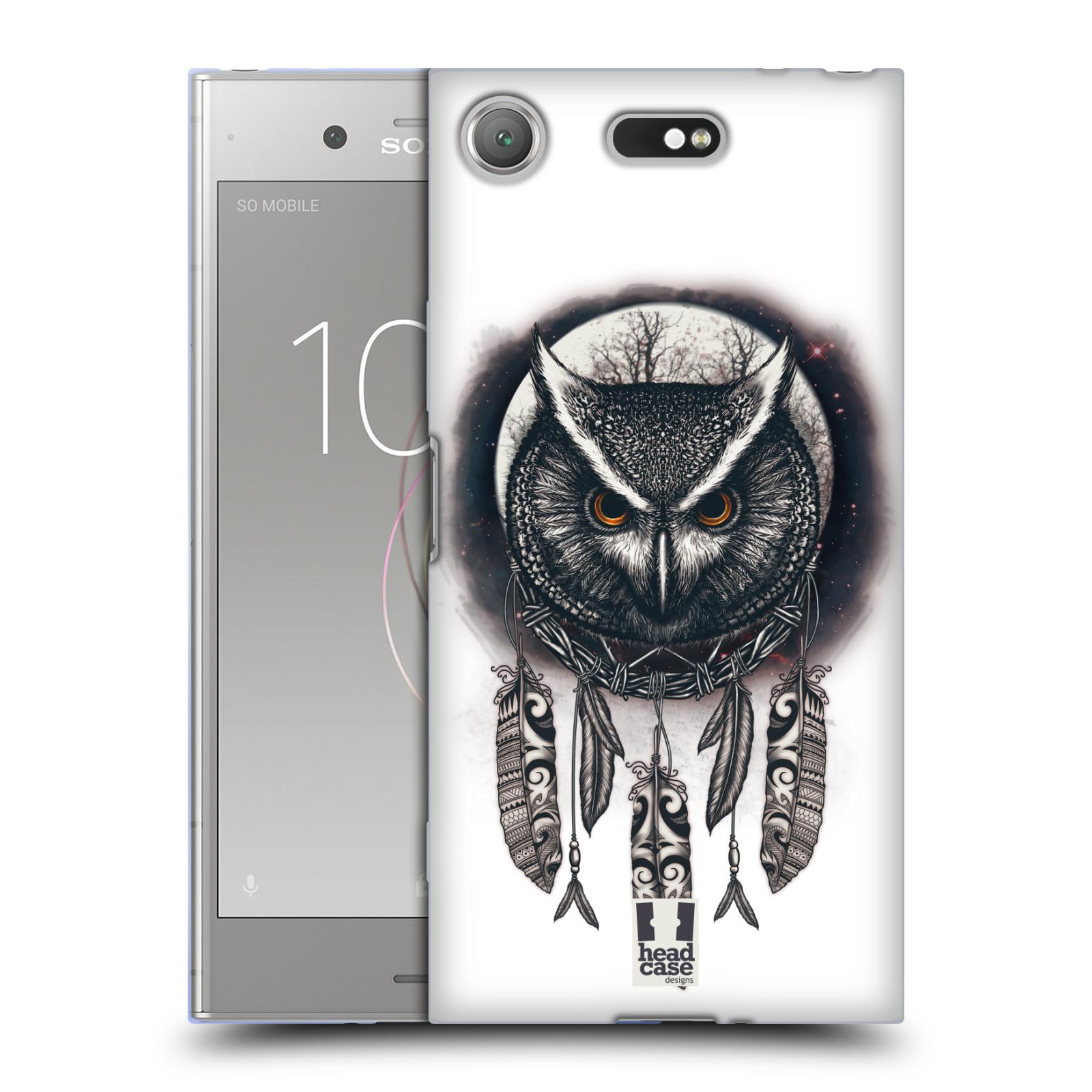 Silikonové pouzdro na mobil Sony Xperia XZ1 Compact - Head Case - Soví lapač