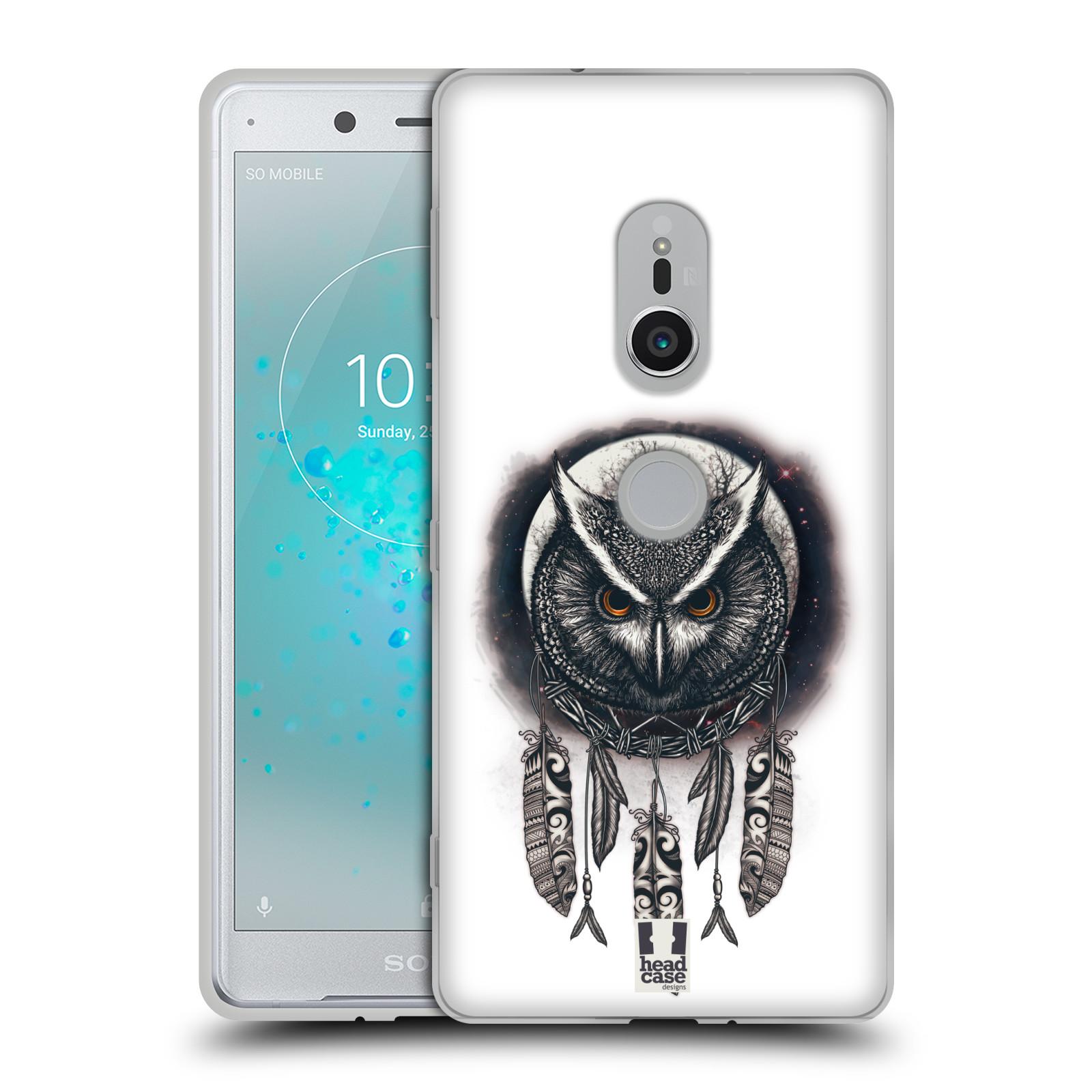 Silikonové pouzdro na mobil Sony Xperia XZ2 - Head Case - Soví lapač
