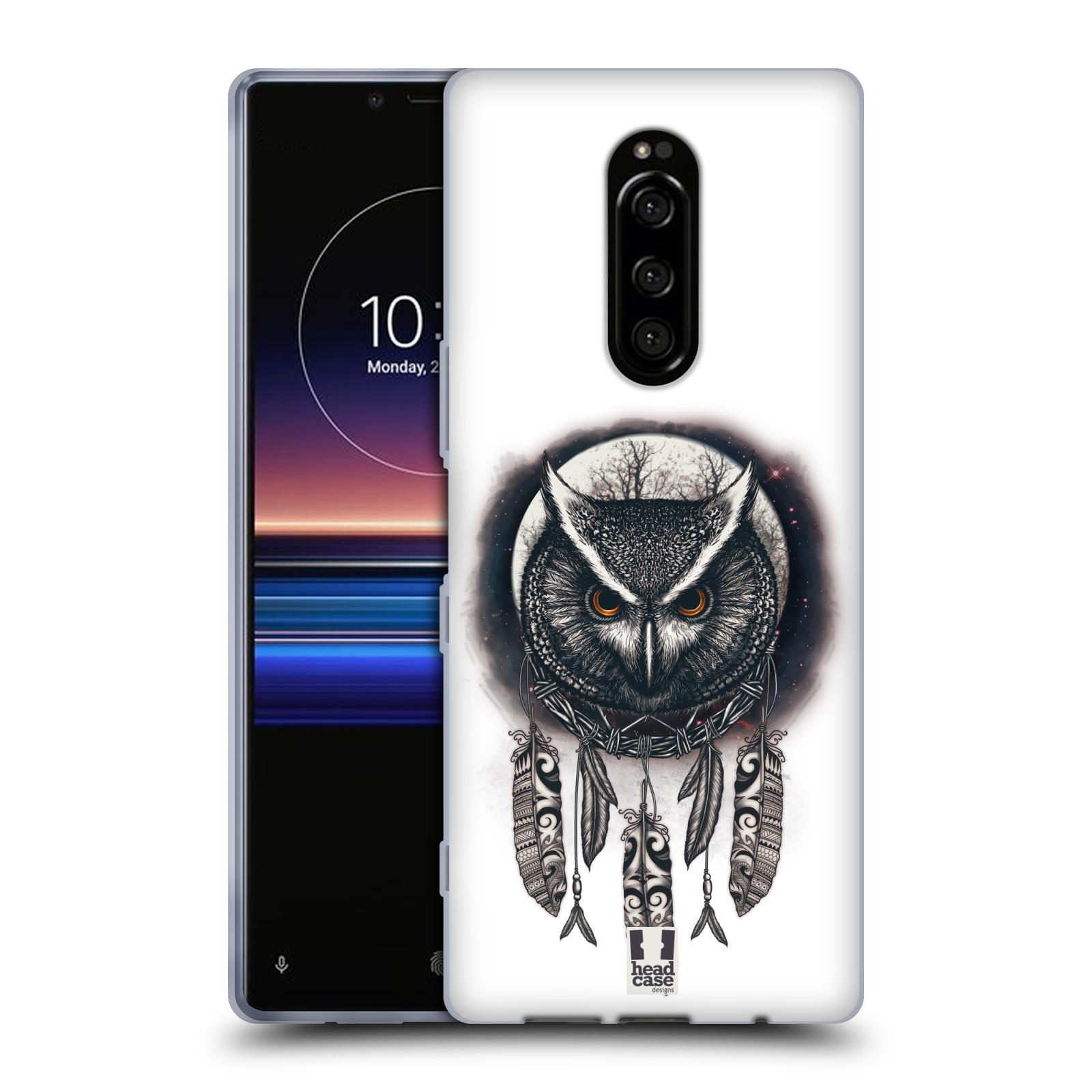 Silikonové pouzdro na mobil Sony Xperia 1 - Head Case - Soví lapač
