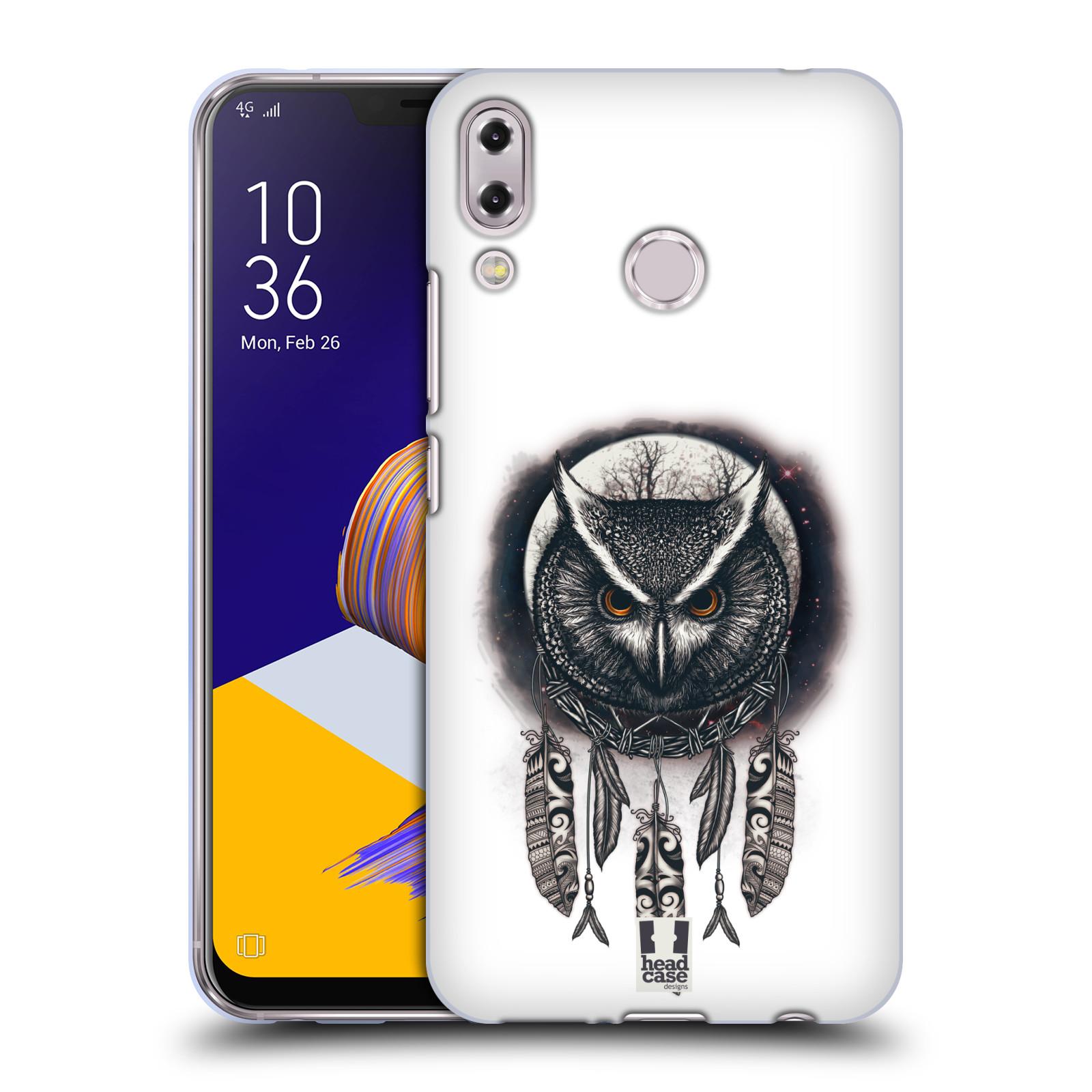 Silikonové pouzdro na mobil Asus Zenfone 5z ZS620KL - Head Case - Soví lapač