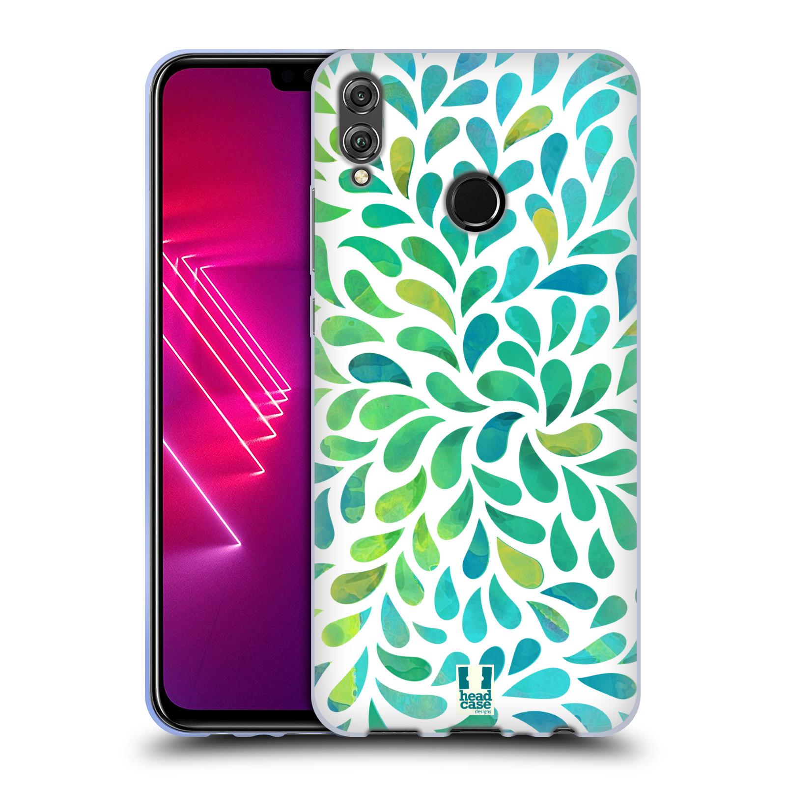 Silikonové pouzdro na mobil Honor View 10 Lite - Head Case - Droplet Wave Kapičky