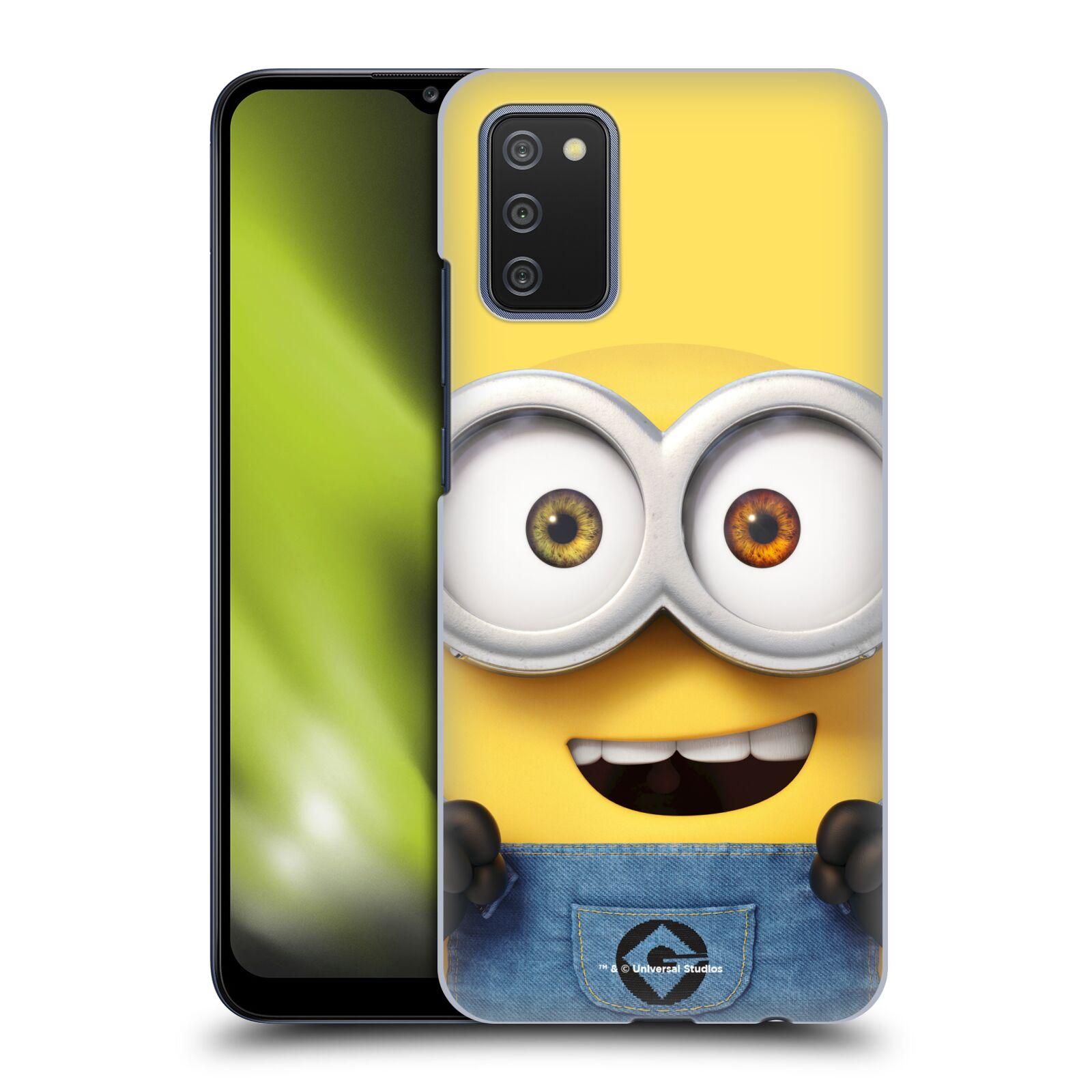 Plastové pouzdro na mobil Samsung Galaxy A02s - Head Case - Mimoň Bob z filmu Já, padouch - Despicable Me