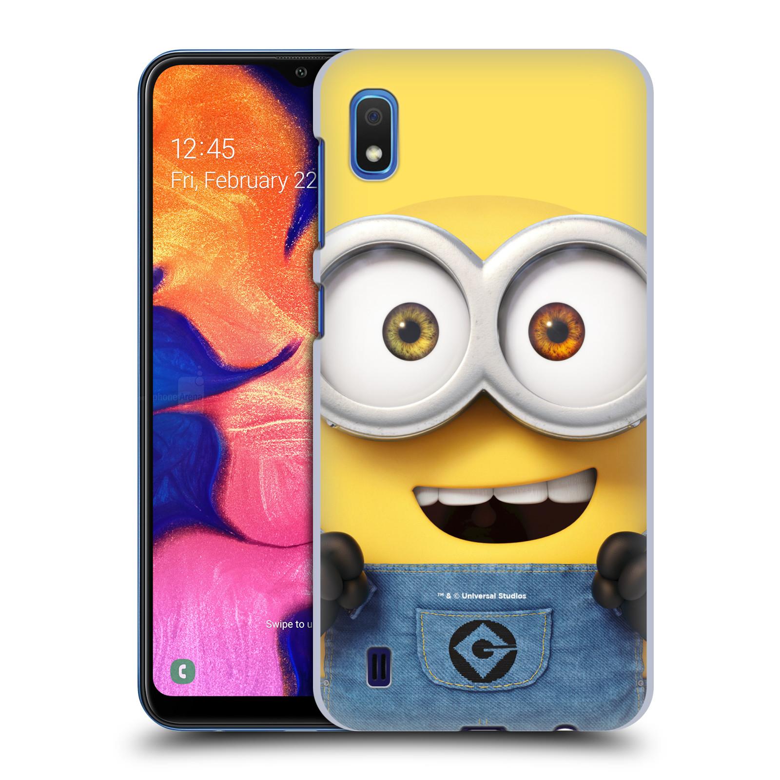 Plastové pouzdro na mobil Samsung Galaxy A10 - Head Case - Mimoň Bob z filmu Já, padouch - Despicable Me