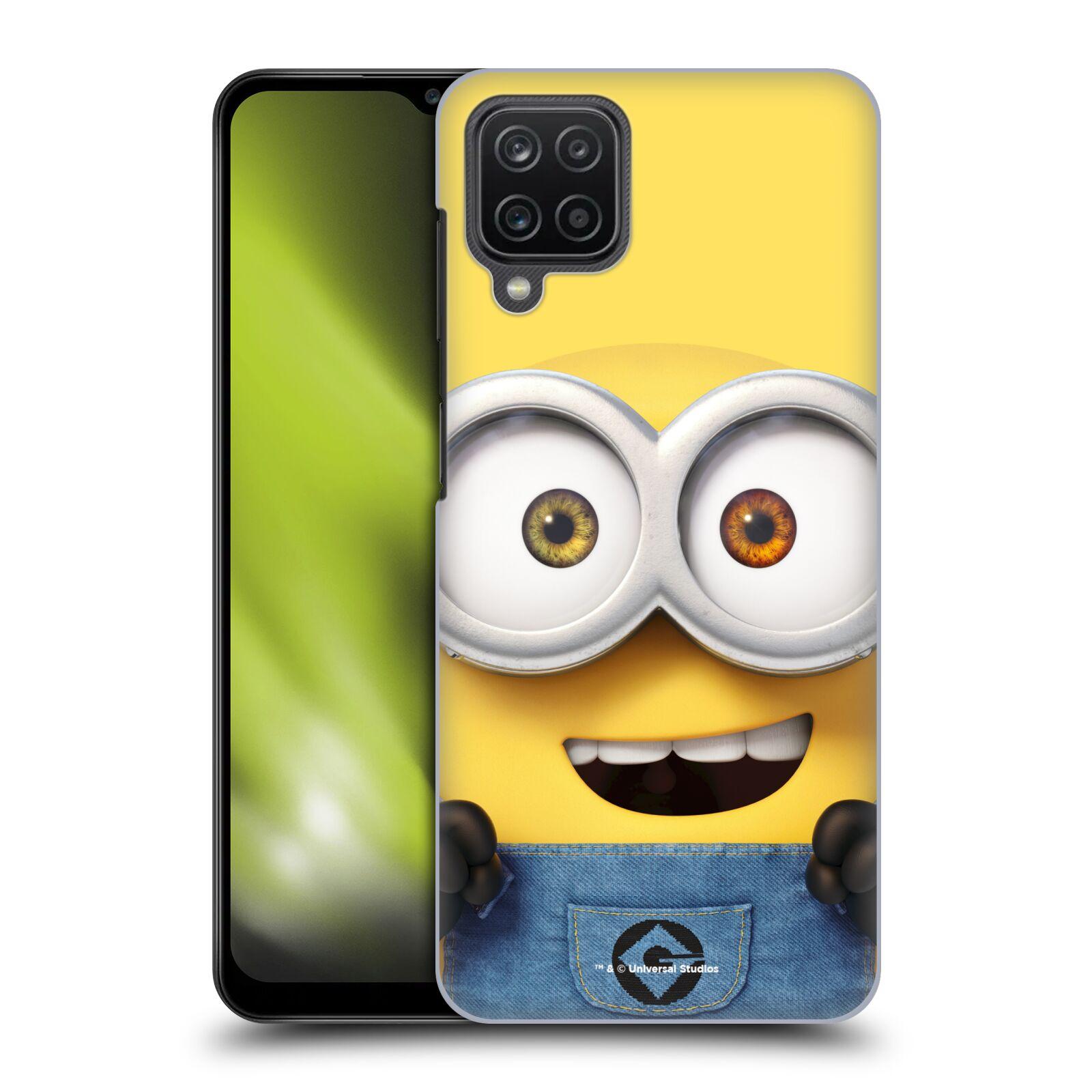 Plastové pouzdro na mobil Samsung Galaxy A12 - Head Case - Mimoň Bob z filmu Já, padouch - Despicable Me