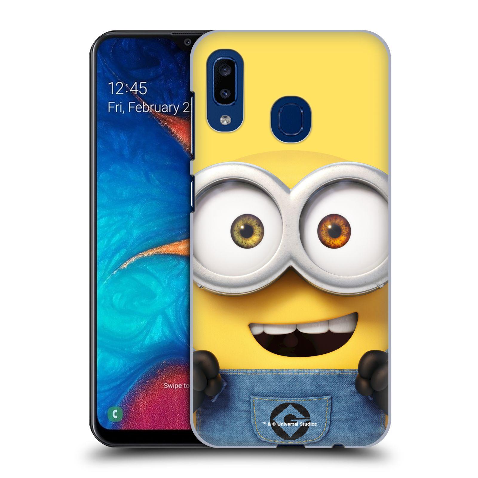 Plastové pouzdro na mobil Samsung Galaxy A20 - Head Case - Mimoň Bob z filmu Já, padouch - Despicable Me