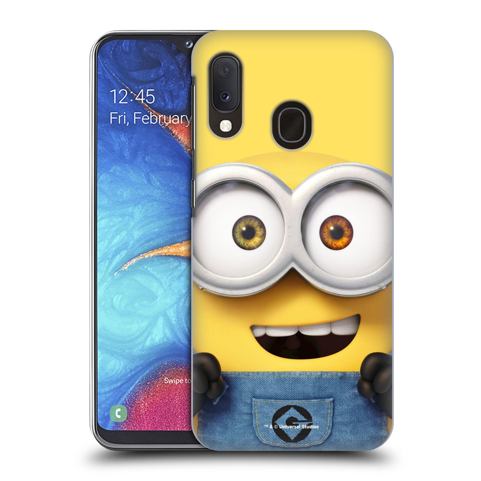 Plastové pouzdro na mobil Samsung Galaxy A20e - Head Case - Mimoň Bob z filmu Já, padouch - Despicable Me