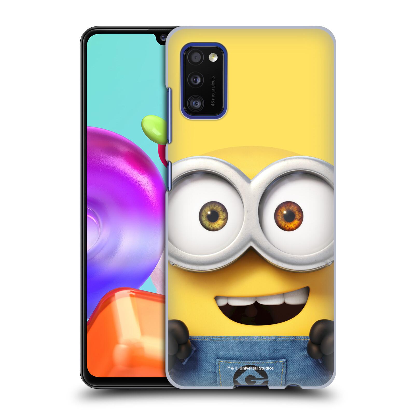 Plastové pouzdro na mobil Samsung Galaxy A41 - Head Case - Mimoň Bob z filmu Já, padouch - Despicable Me