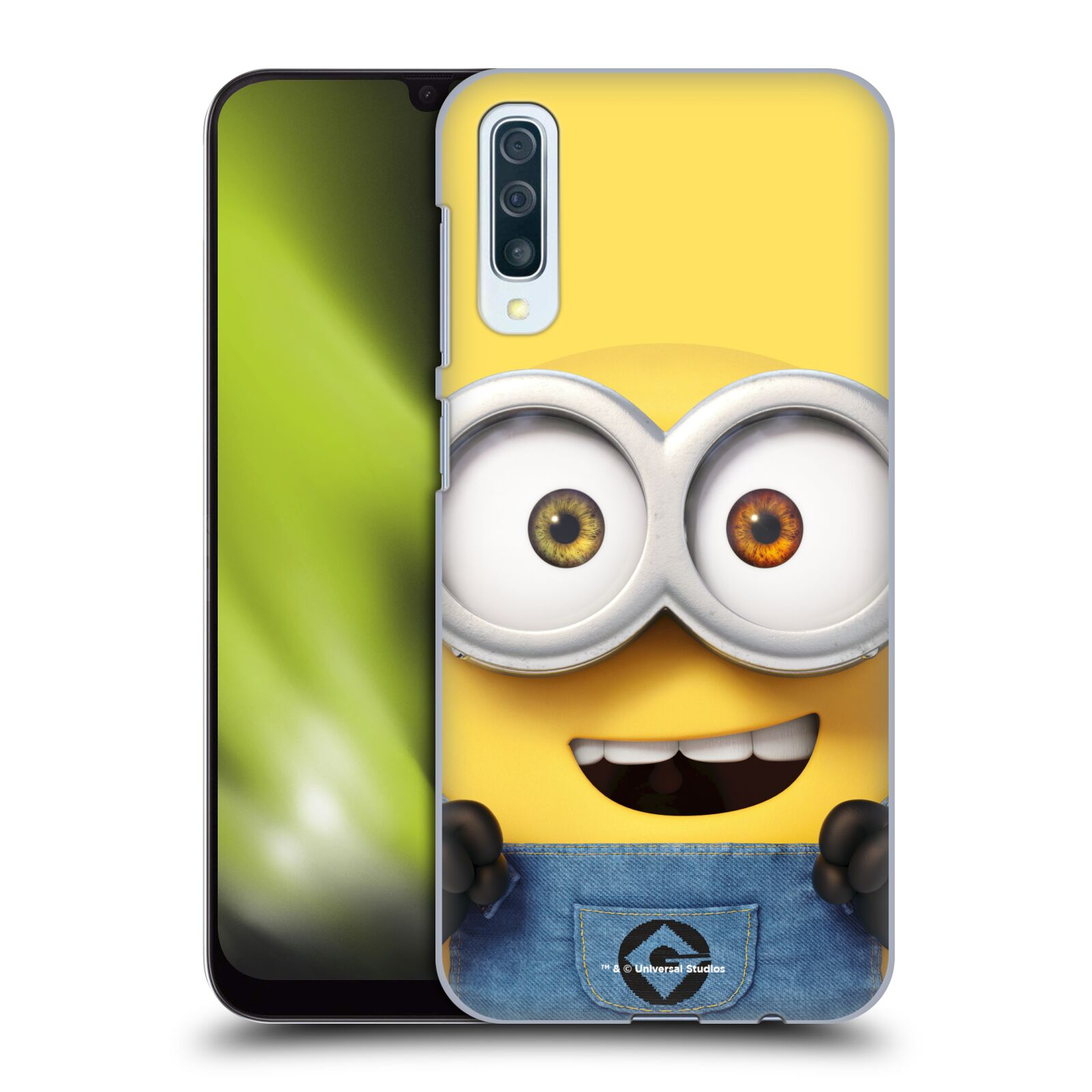 Plastové pouzdro na mobil Samsung Galaxy A50 - Head Case - Mimoň Bob z filmu Já, padouch - Despicable Me