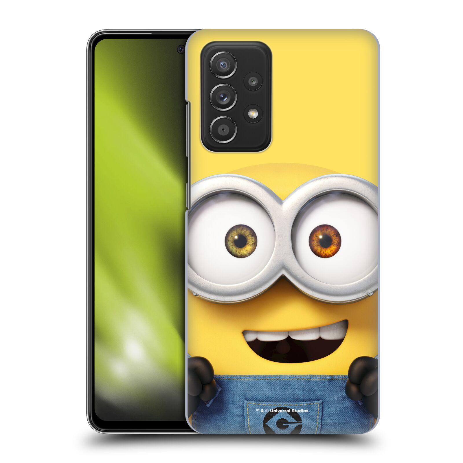 Plastové pouzdro na mobil Samsung Galaxy A52 / A52 5G / A52s 5G - Head Case - Mimoň Bob z filmu Já, padouch - Despicable Me