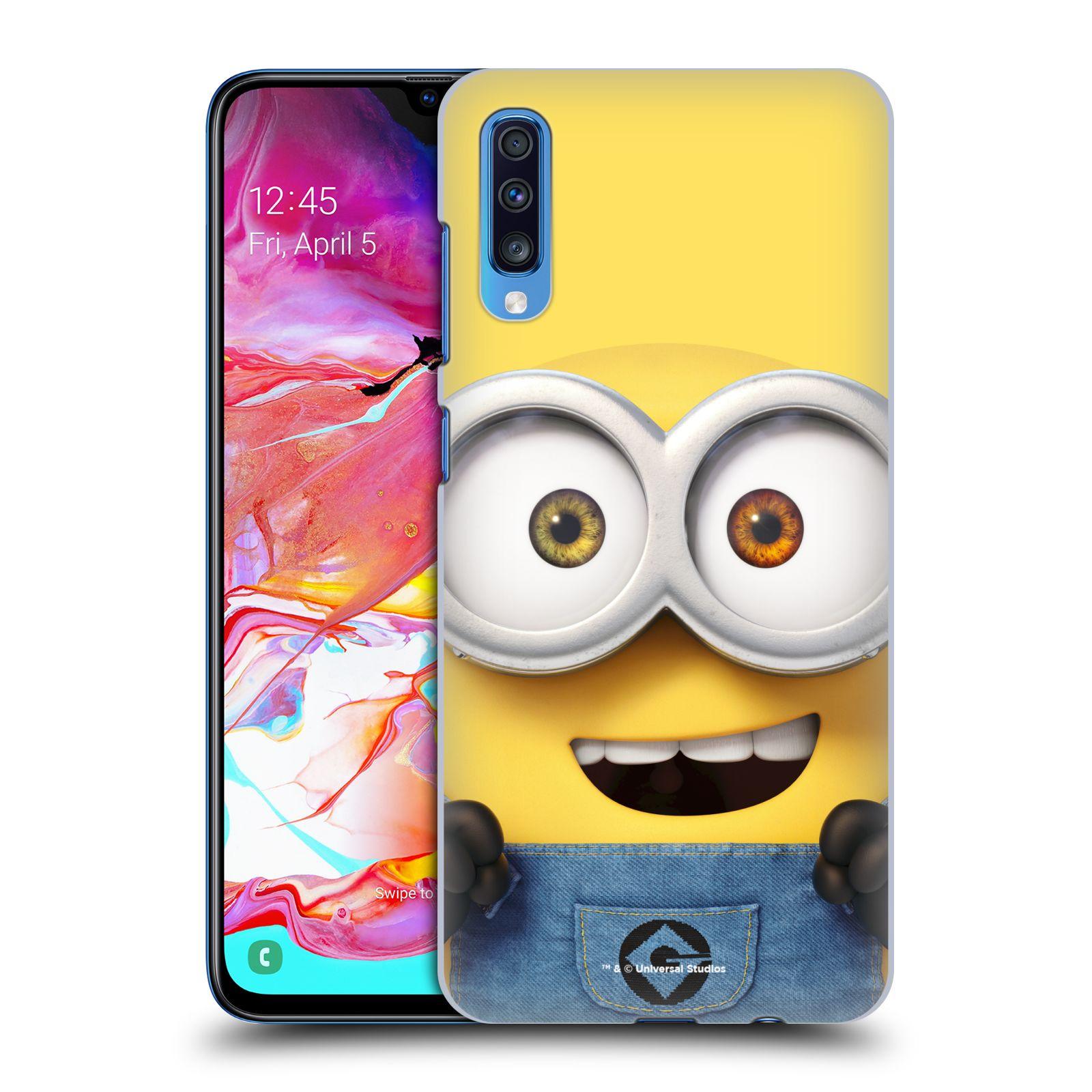 Plastové pouzdro na mobil Samsung Galaxy A70 - Head Case - Mimoň Bob z filmu Já, padouch - Despicable Me