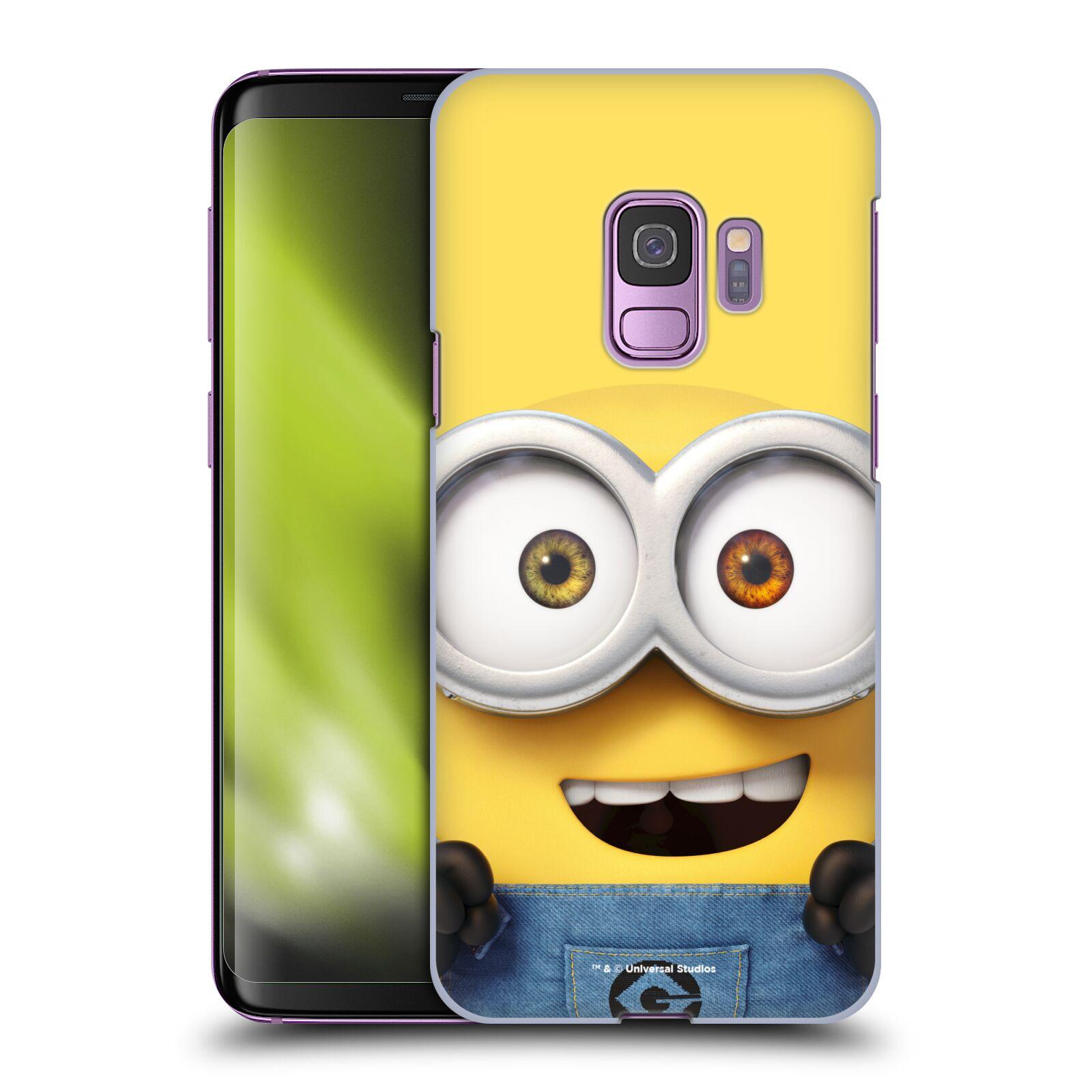 Plastové pouzdro na mobil Samsung Galaxy S9 - Head Case - Mimoň Bob z filmu Já, padouch - Despicable Me
