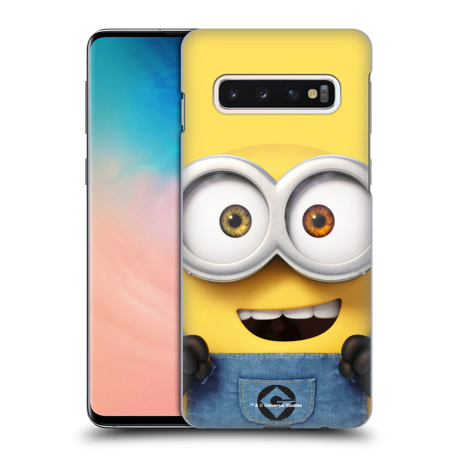 Plastové pouzdro na mobil Samsung Galaxy S10 - Head Case - Mimoň Bob z filmu Já, padouch - Despicable Me