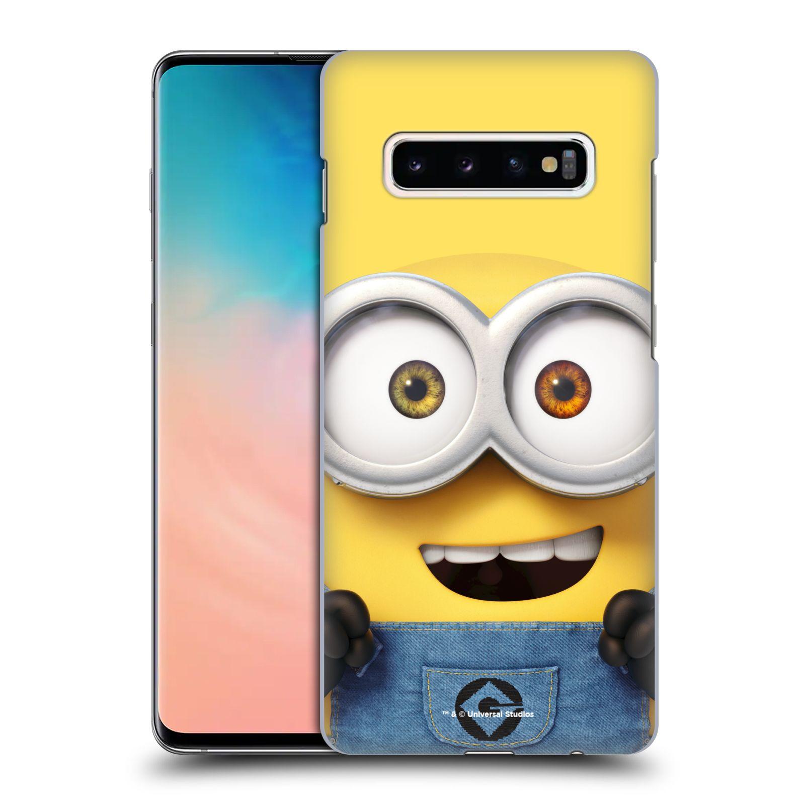 Plastové pouzdro na mobil Samsung Galaxy S10 Plus - Head Case - Mimoň Bob z filmu Já, padouch - Despicable Me