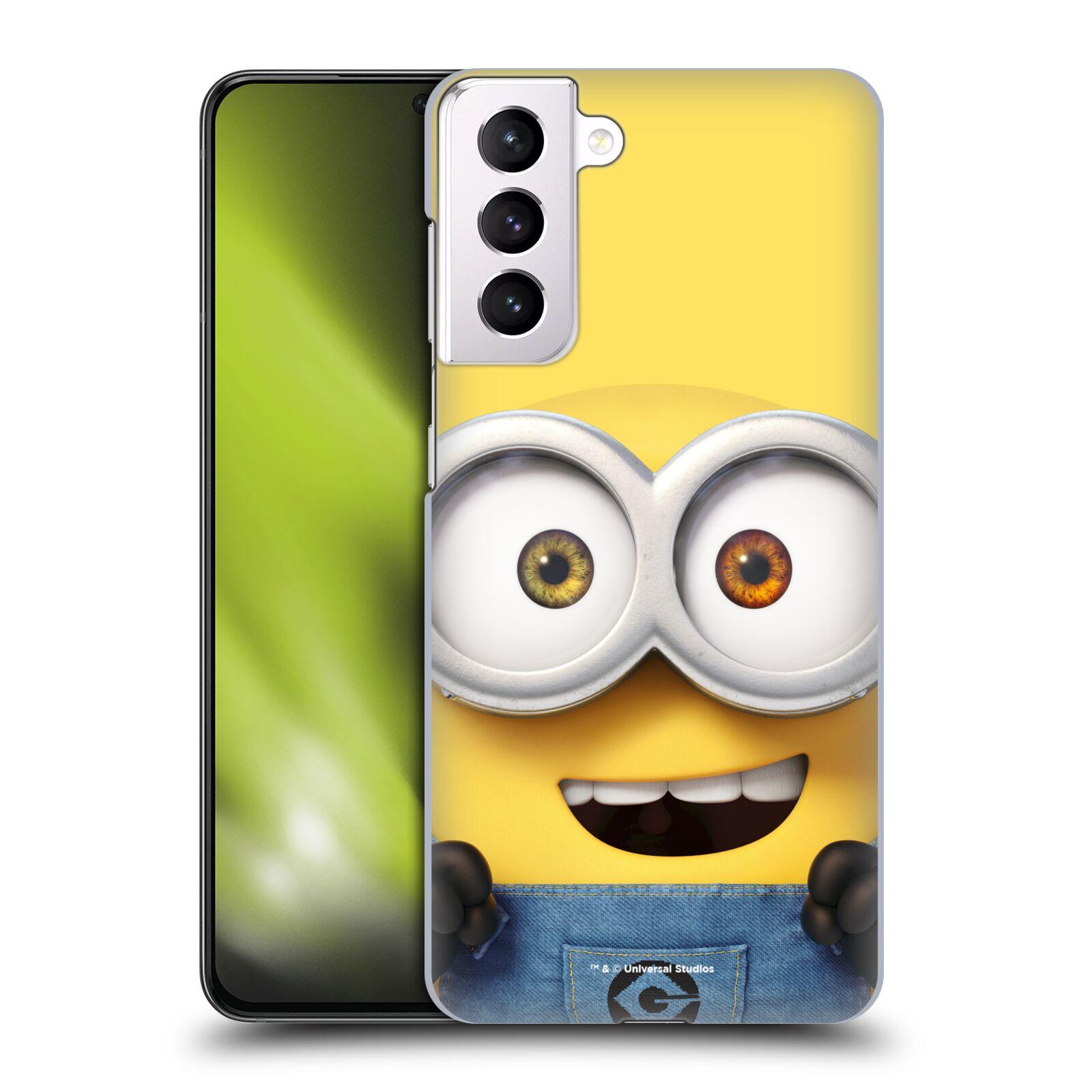 Plastové pouzdro na mobil Samsung Galaxy S21 Plus 5G - Head Case - Mimoň Bob z filmu Já, padouch - Despicable Me