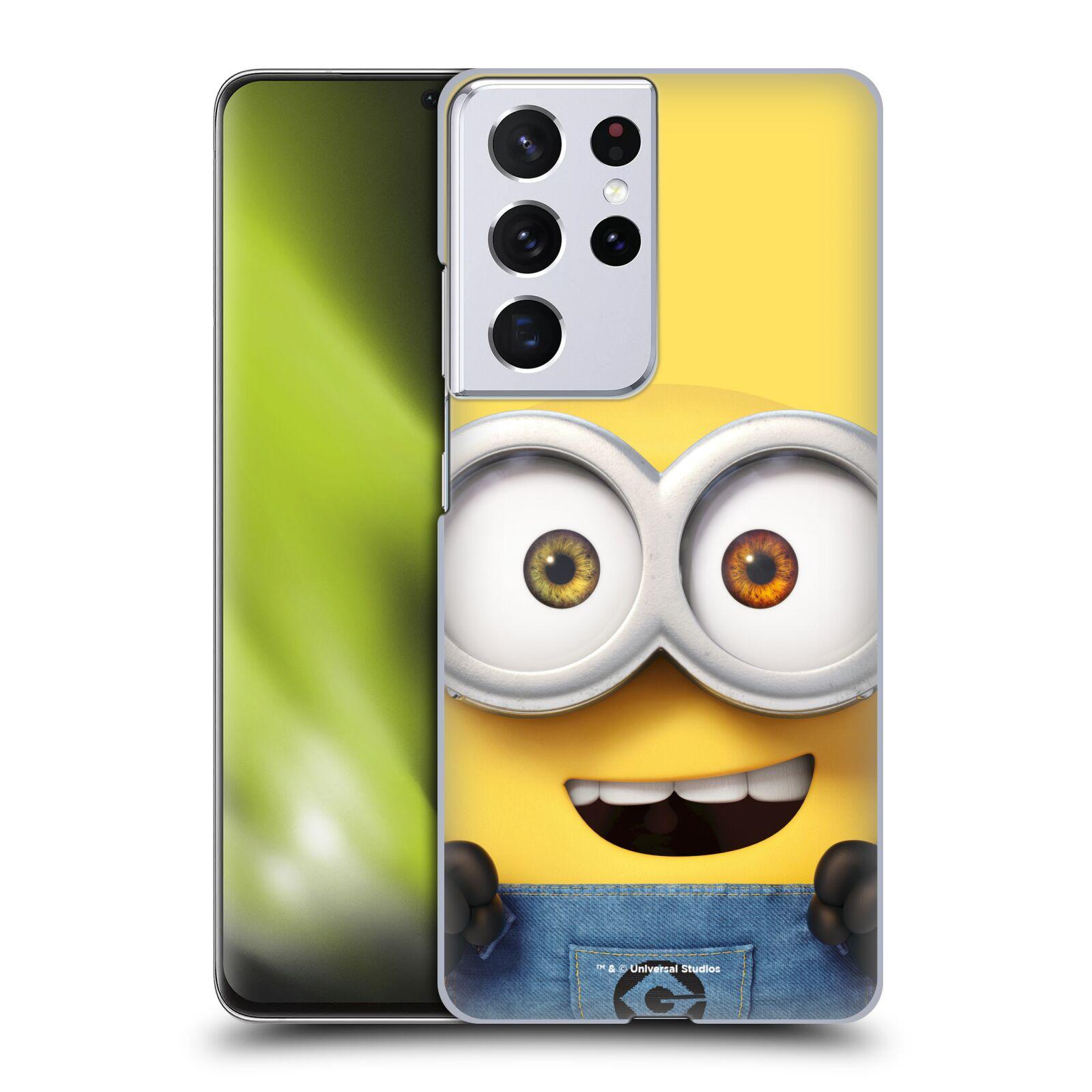 Plastové pouzdro na mobil Samsung Galaxy S21 Ultra 5G - Head Case - Mimoň Bob z filmu Já, padouch - Despicable Me