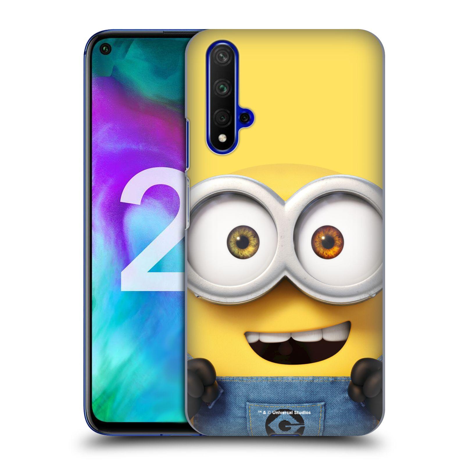 Plastové pouzdro na mobil Honor 20 - Head Case - Mimoň Bob z filmu Já, padouch - Despicable Me