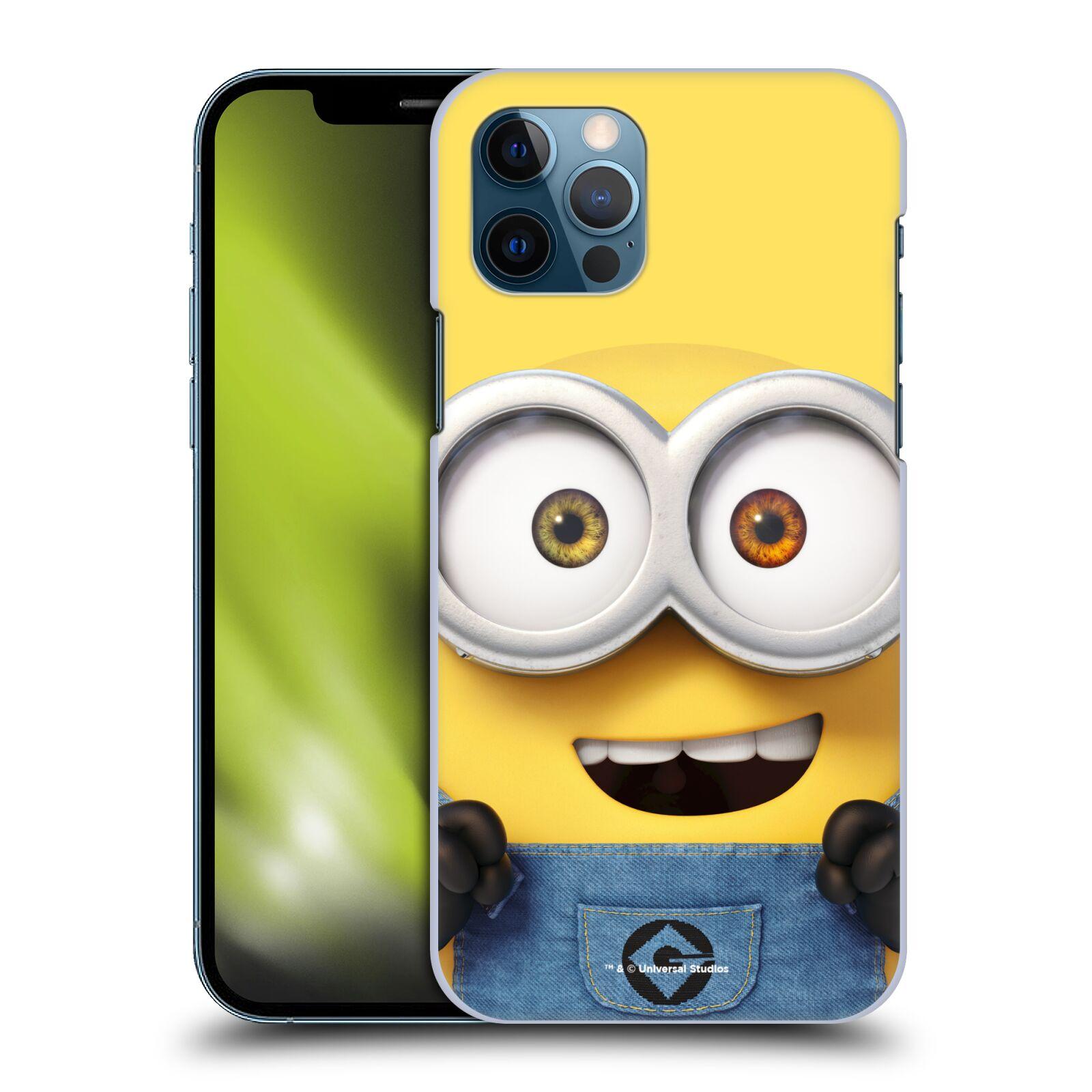 Plastové pouzdro na mobil Apple iPhone 12 / 12 Pro - Head Case - Mimoň Bob z filmu Já, padouch - Despicable Me