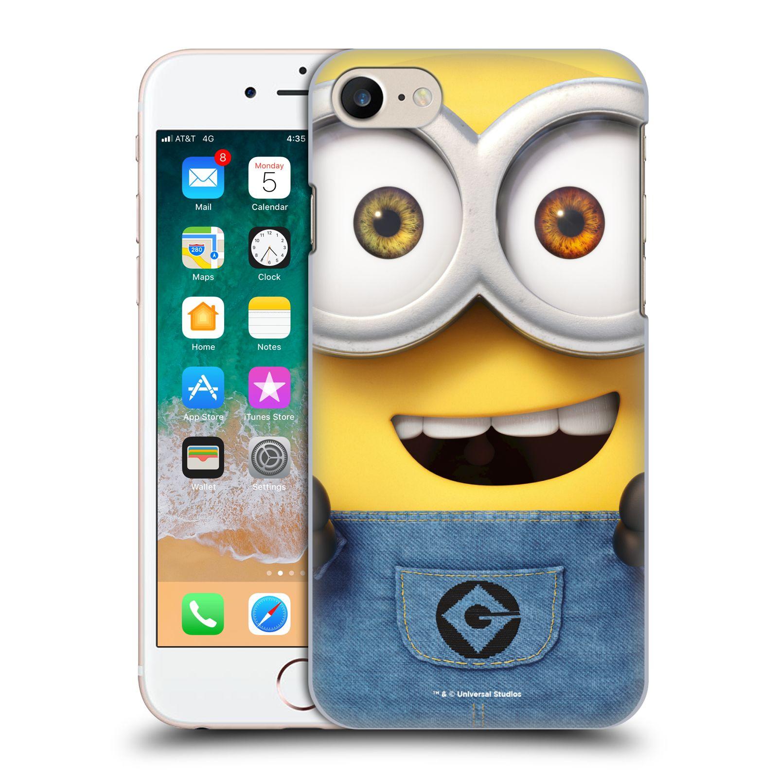 Plastové pouzdro na mobil Apple iPhone SE (2020) - Head Case - Mimoň Bob z filmu Já, padouch - Despicable Me
