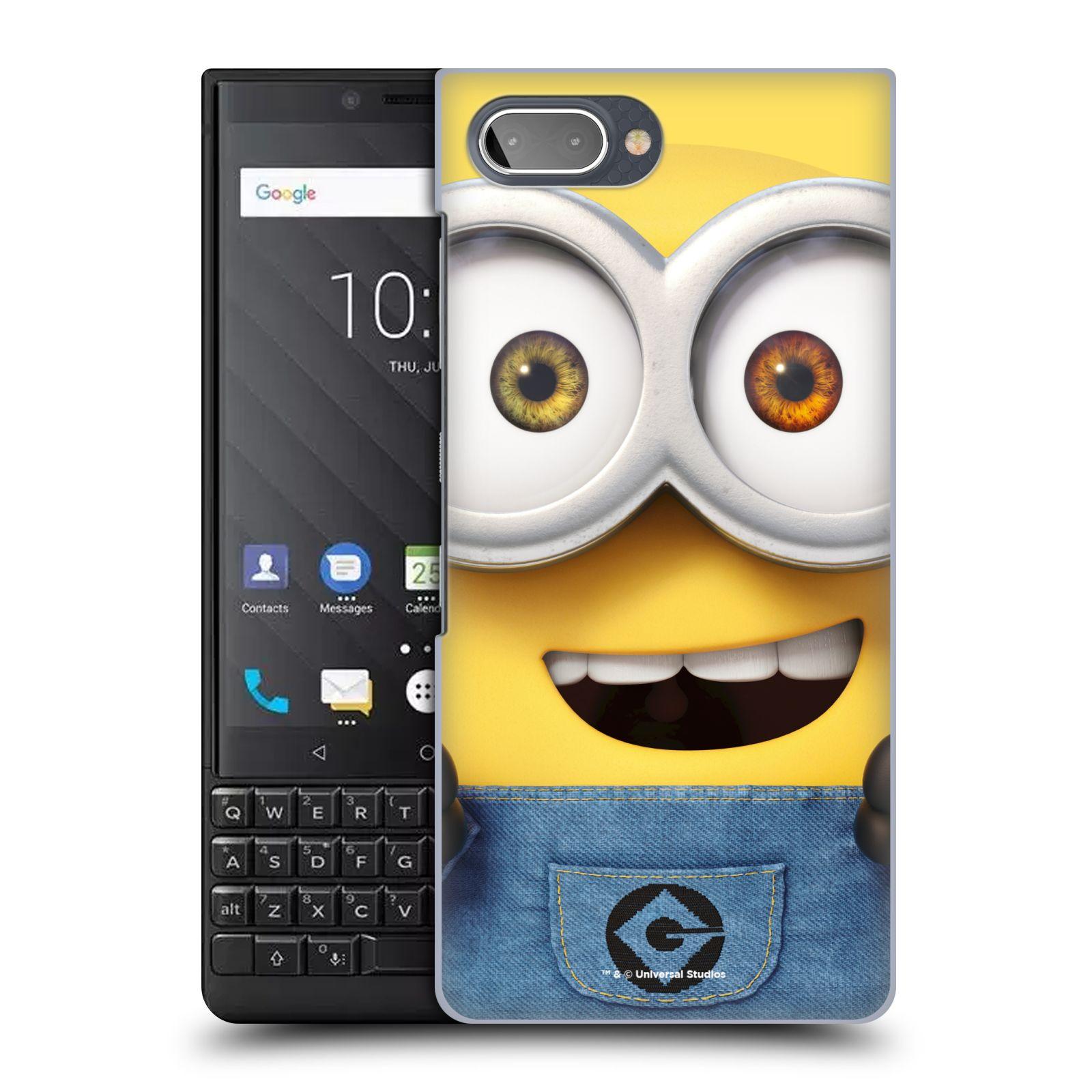 Plastové pouzdro na mobil Blackberry Key 2 - Head Case - Mimoň Bob z filmu Já, padouch - Despicable Me