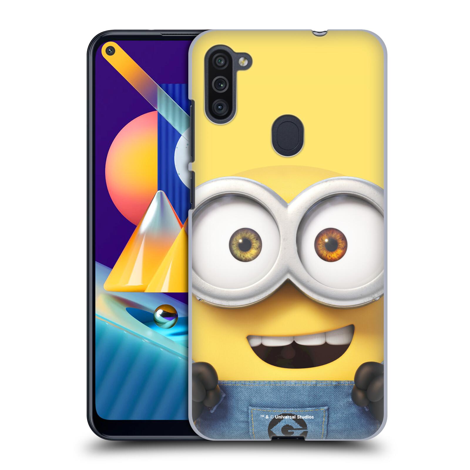 Plastové pouzdro na mobil Samsung Galaxy M11 - Head Case - Mimoň Bob z filmu Já, padouch - Despicable Me