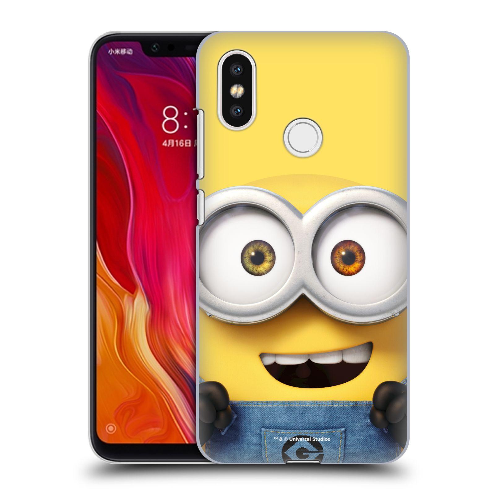 Plastové pouzdro na mobil Xiaomi Mi8 - Head Case - Mimoň Bob z filmu Já, padouch - Despicable Me
