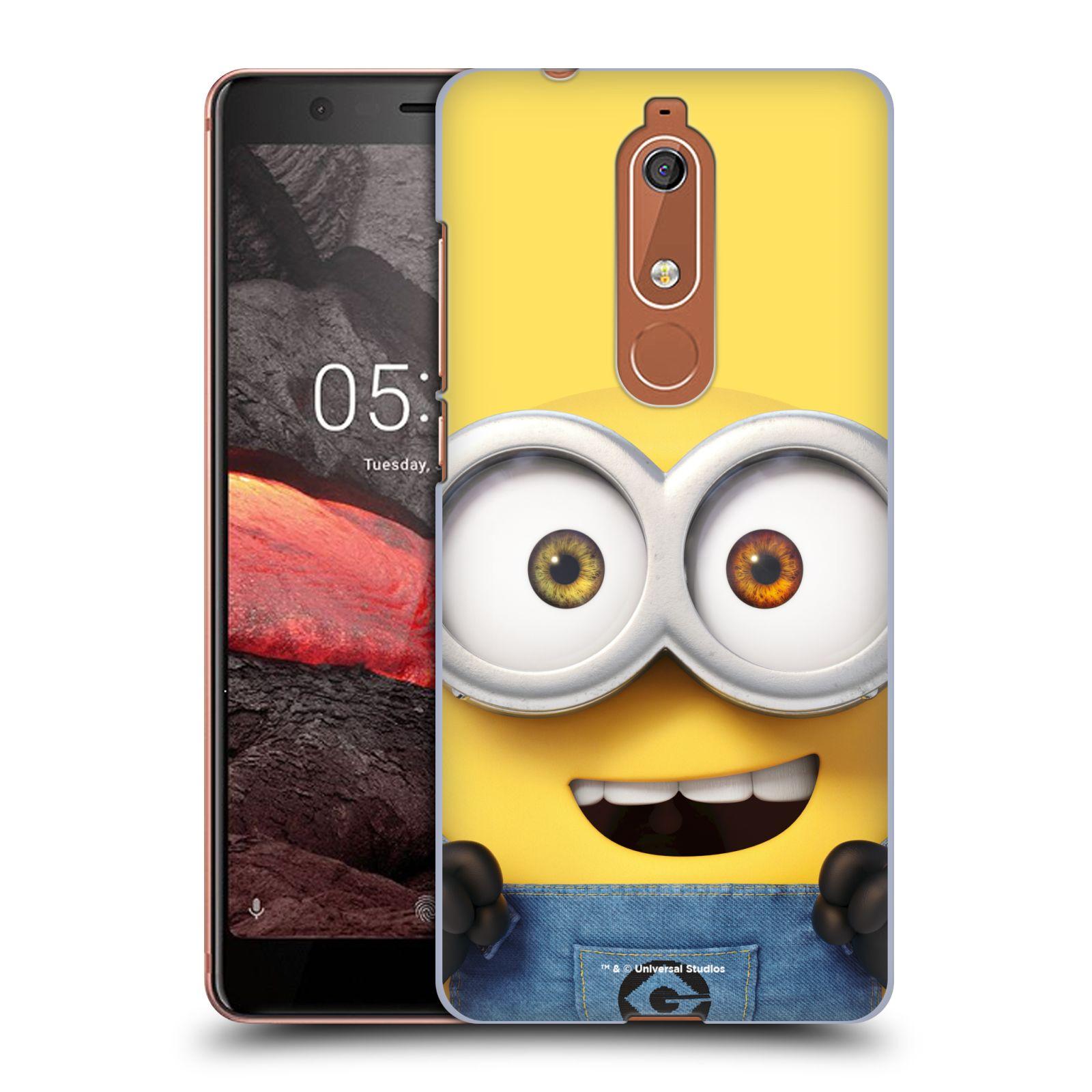 Plastové pouzdro na mobil Nokia 5.1 - Head Case - Mimoň Bob z filmu Já, padouch - Despicable Me