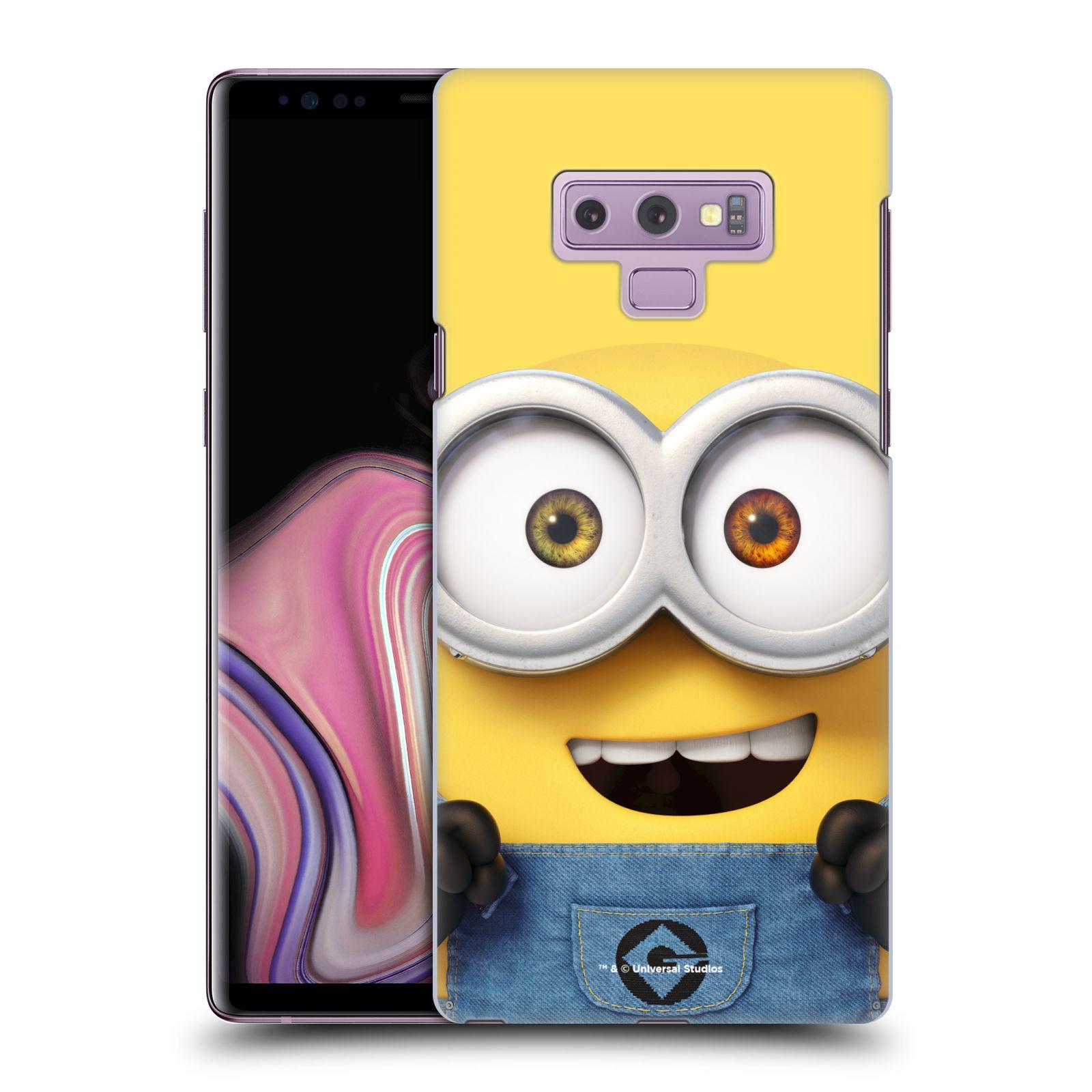 Plastové pouzdro na mobil Samsung Galaxy Note 9 - Head Case - Mimoň Bob z filmu Já, padouch - Despicable Me