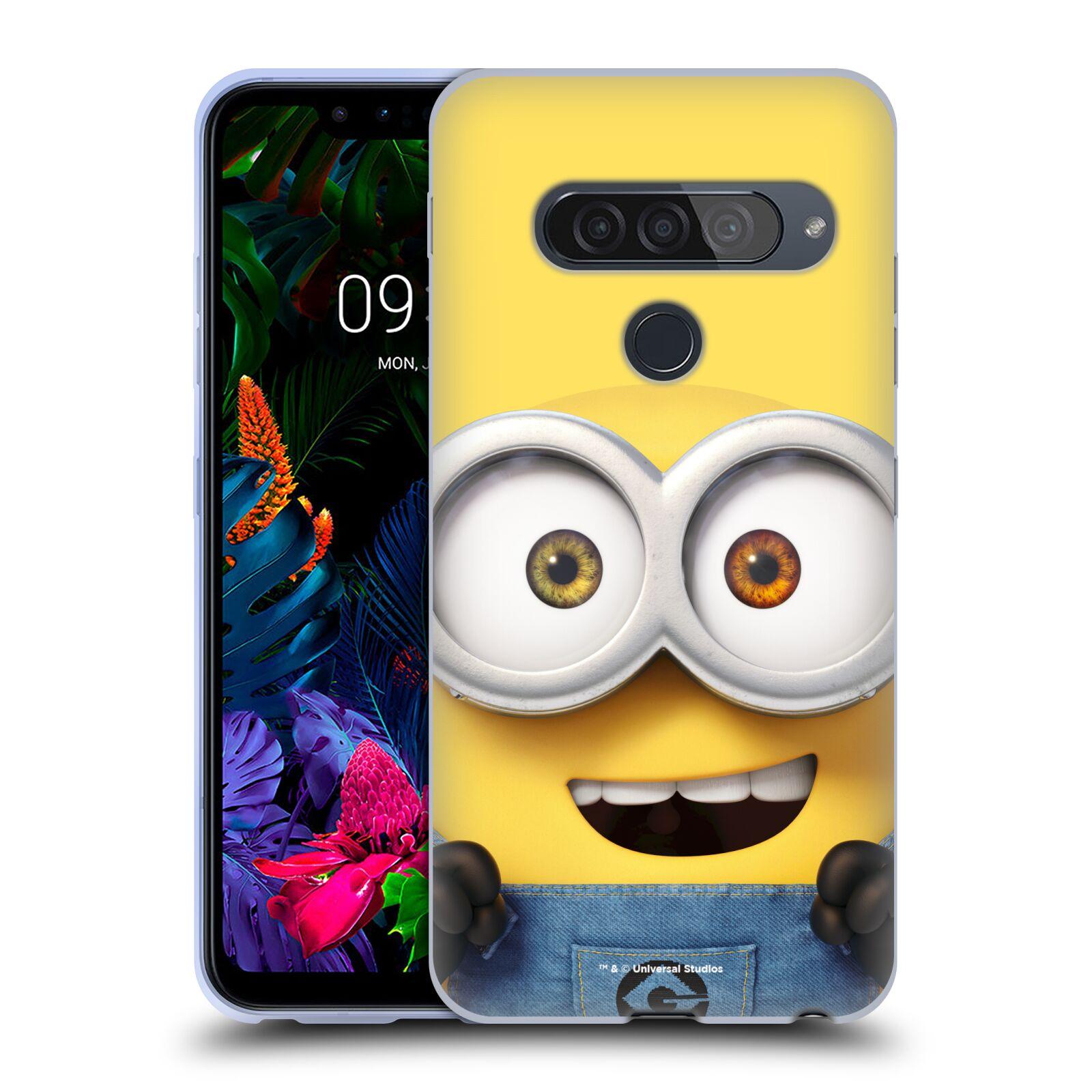 Silikonové pouzdro na mobil LG G8s ThinQ - Head Case - Mimoň Bob z filmu Já, padouch - Despicable Me