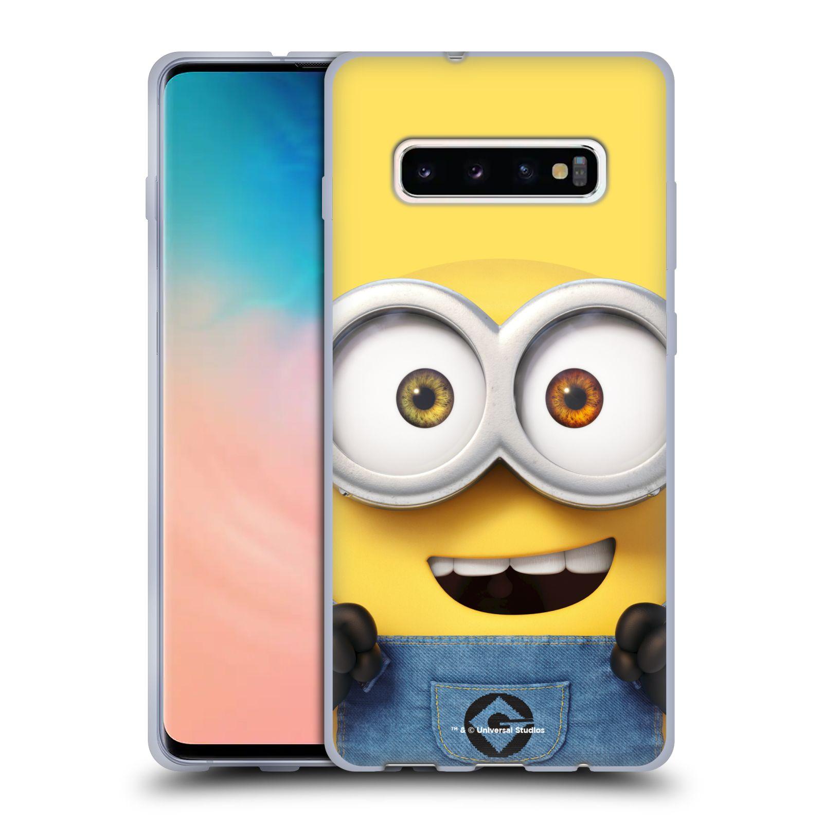Silikonové pouzdro na mobil Samsung Galaxy S10 Plus - Head Case - Mimoň Bob z filmu Já, padouch - Despicable Me