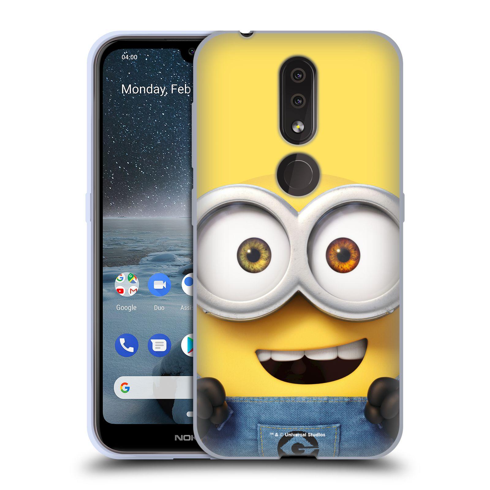 Silikonové pouzdro na mobil Nokia 4.2 - Head Case - Mimoň Bob z filmu Já, padouch - Despicable Me