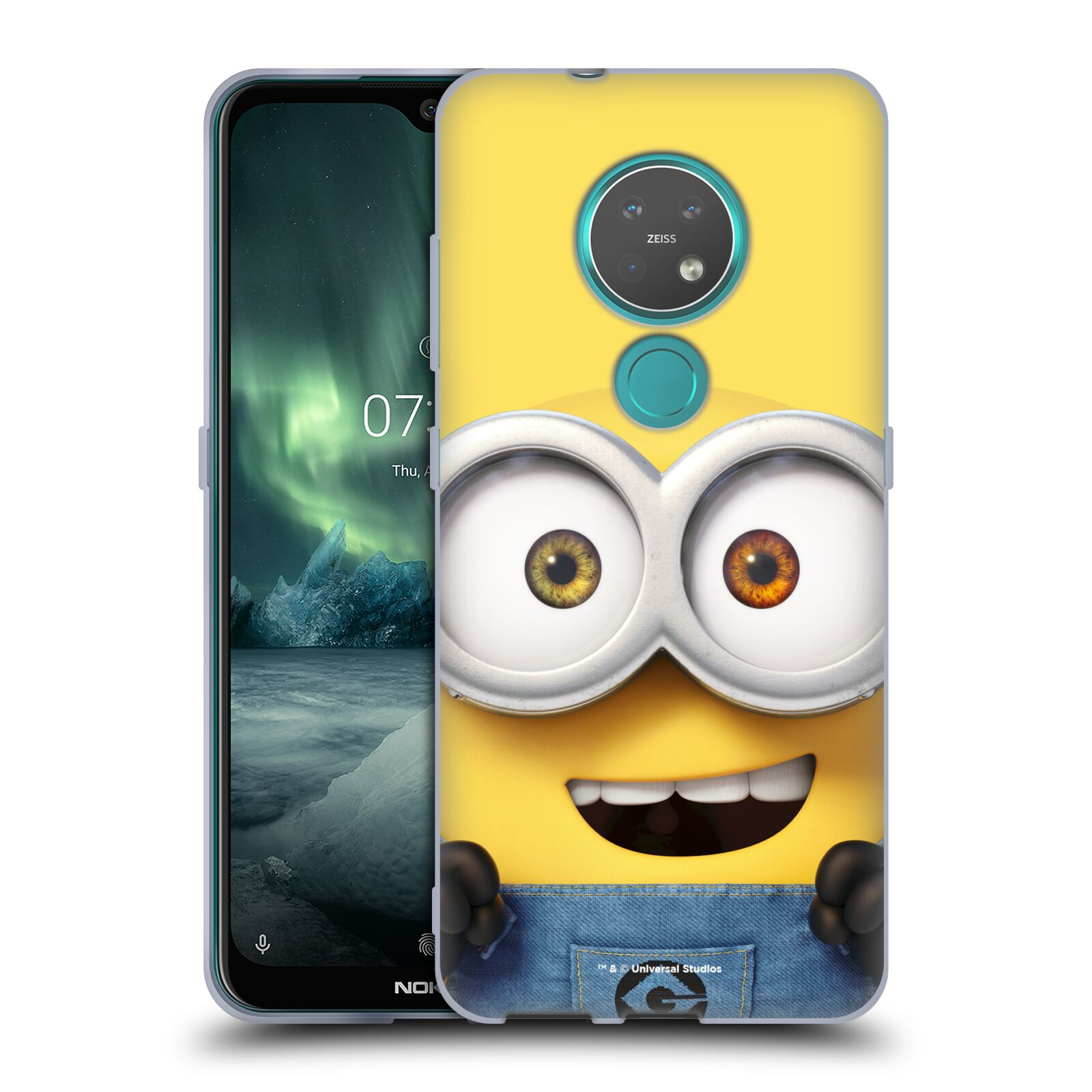 Silikonové pouzdro na mobil Nokia 6.2 - Head Case - Mimoň Bob z filmu Já, padouch - Despicable Me