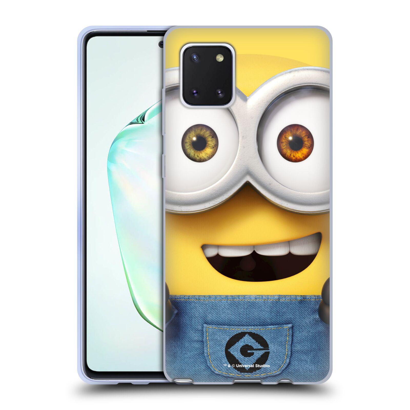 Silikonové pouzdro na mobil Samsung Galaxy Note 10 Lite - Head Case - Mimoň Bob z filmu Já, padouch - Despicable Me