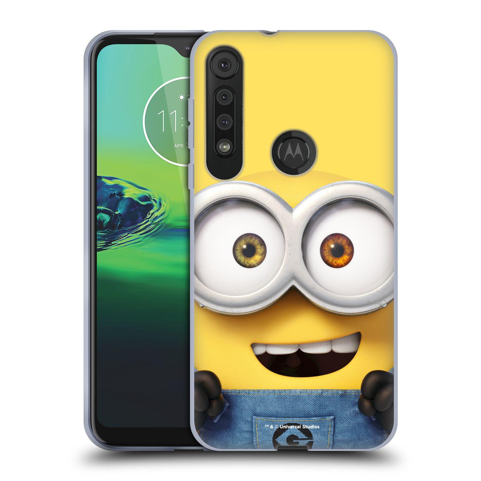 Silikonové pouzdro na mobil Motorola One Macro - Head Case - Mimoň Bob z filmu Já, padouch - Despicable Me