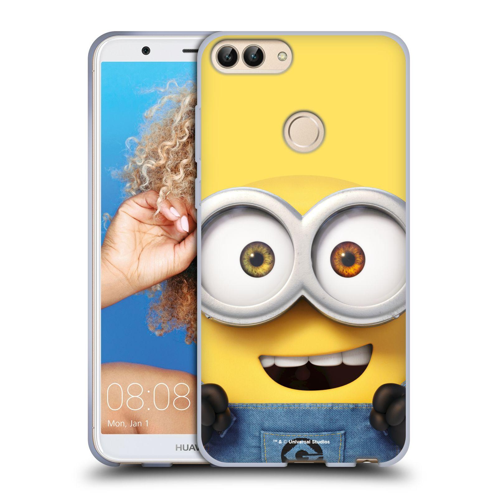 Silikonové pouzdro na mobil Huawei P Smart - Head Case - Mimoň Bob z filmu Já, padouch - Despicable Me