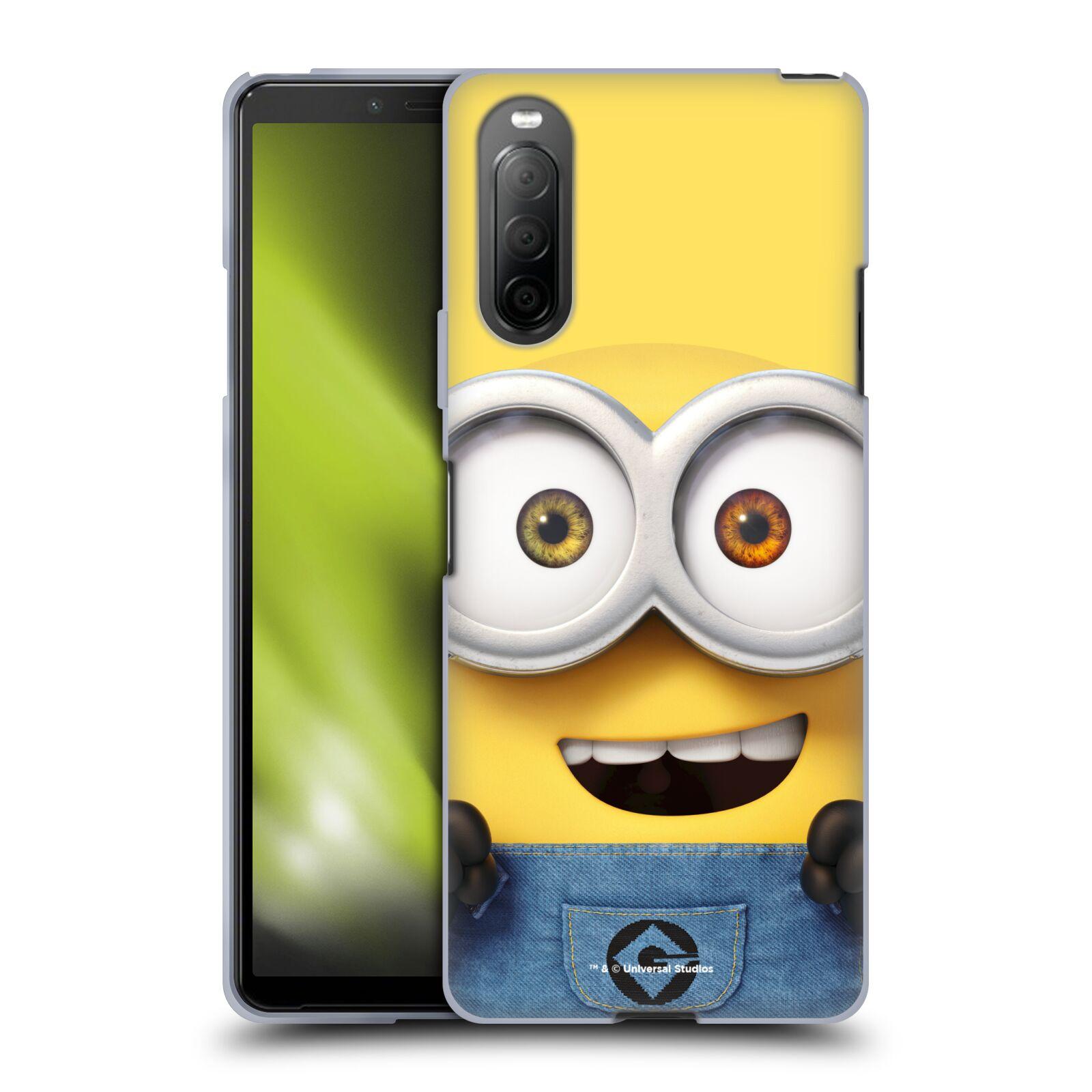 Silikonové pouzdro na mobil Sony Xperia 10 II - Head Case - Mimoň Bob z filmu Já, padouch - Despicable Me