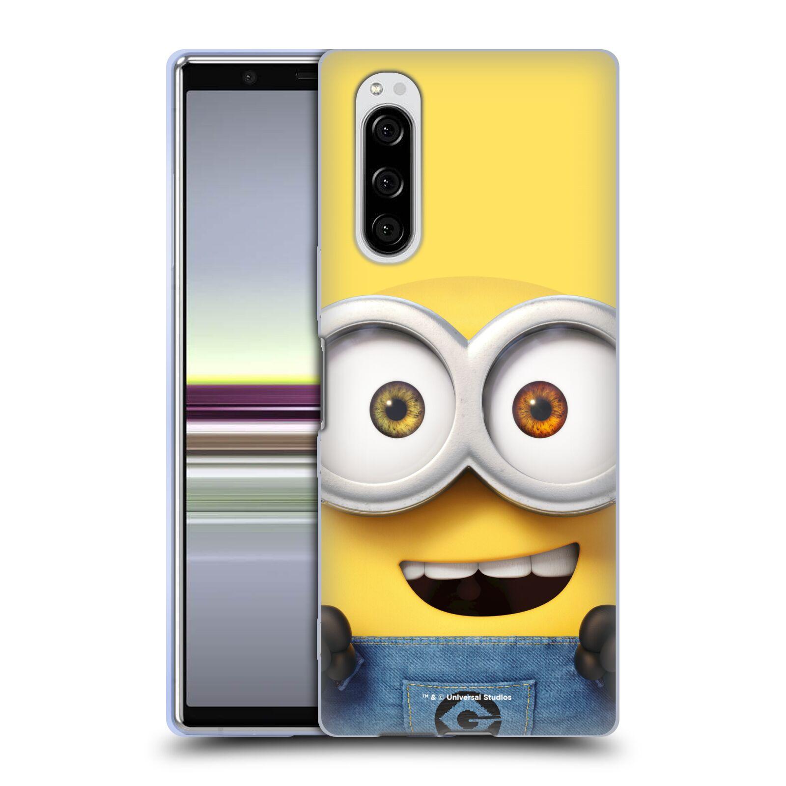 Silikonové pouzdro na mobil Sony Xperia 5 - Head Case - Mimoň Bob z filmu Já, padouch - Despicable Me