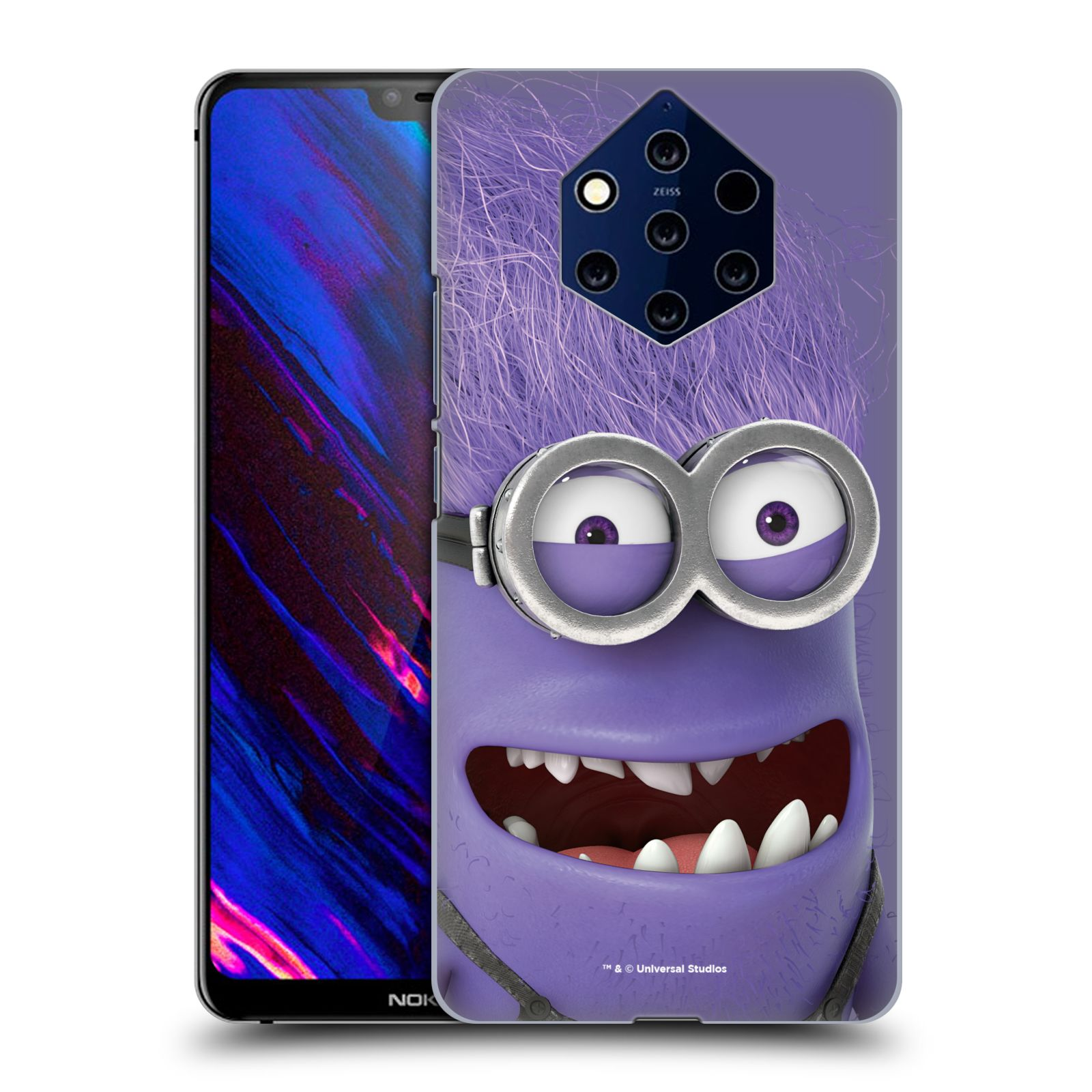 Plastové pouzdro na mobil Nokia 9 PureView - Head Case - Zlý Mimoň z filmu Já, padouch - Despicable Me