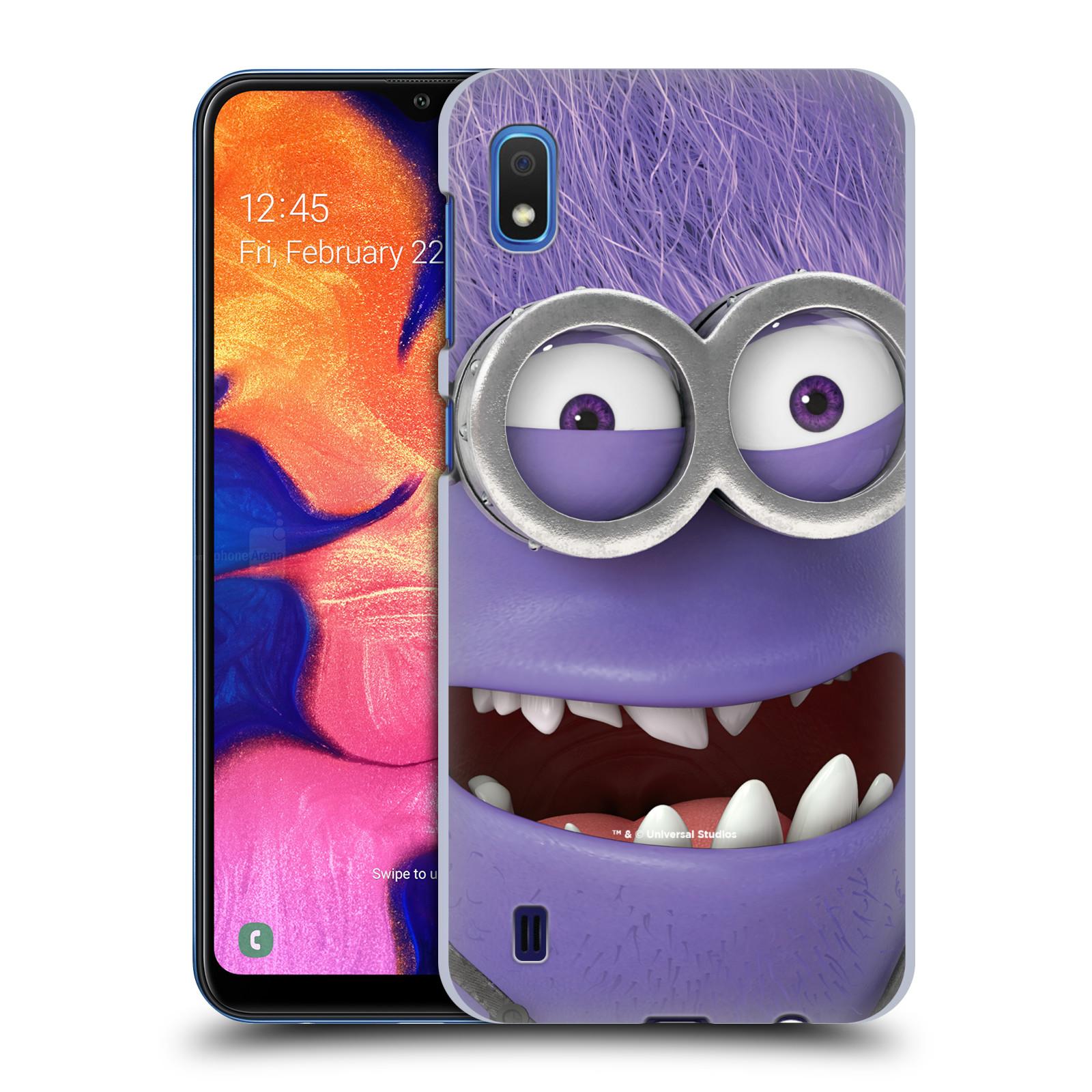 Plastové pouzdro na mobil Samsung Galaxy A10 - Head Case - Zlý Mimoň z filmu Já, padouch - Despicable Me
