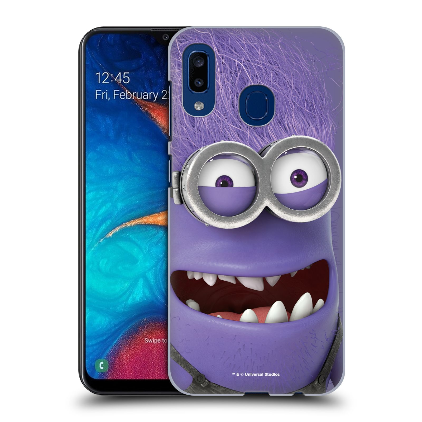 Plastové pouzdro na mobil Samsung Galaxy A20 - Head Case - Zlý Mimoň z filmu Já, padouch - Despicable Me