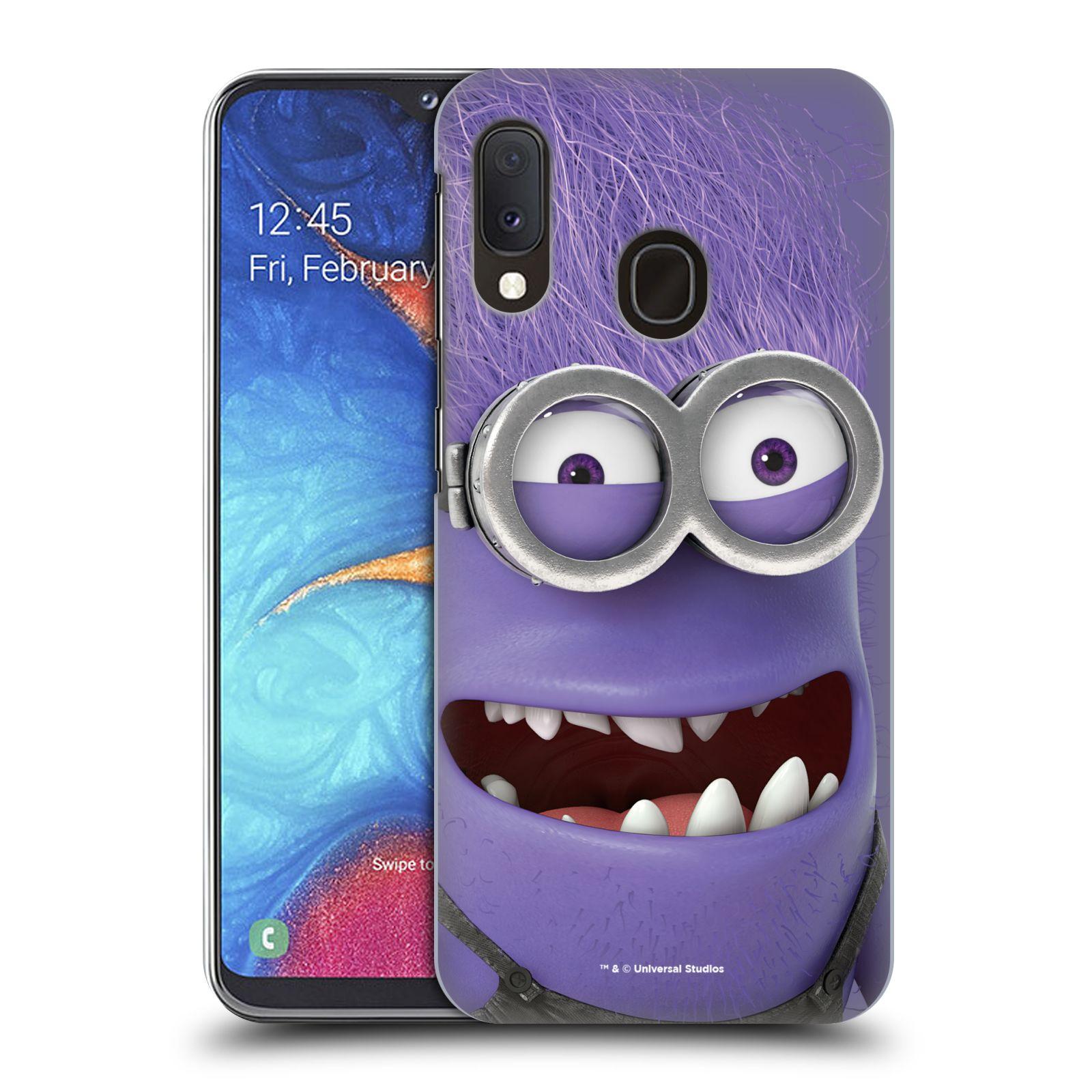 Plastové pouzdro na mobil Samsung Galaxy A20e - Head Case - Zlý Mimoň z filmu Já, padouch - Despicable Me