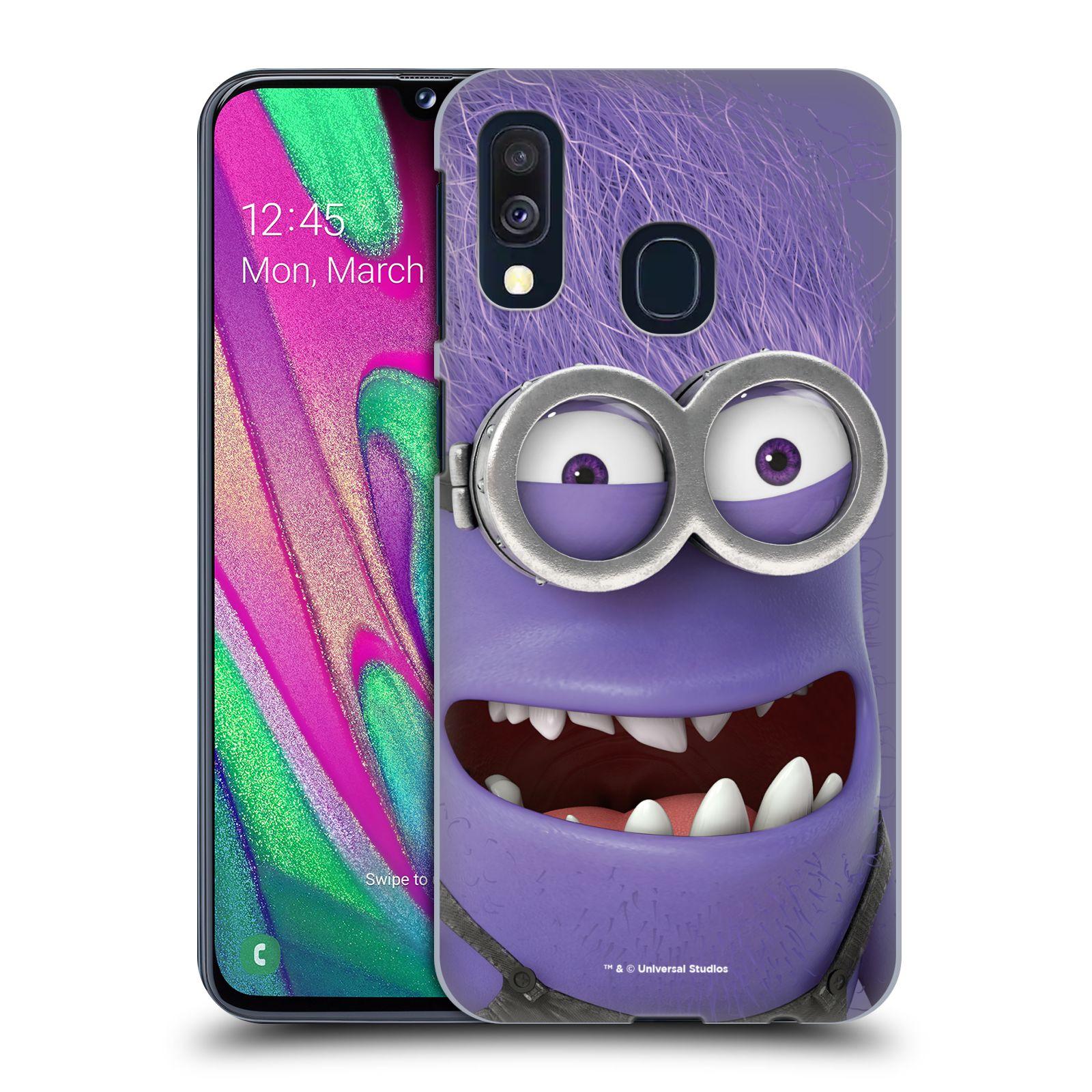 Plastové pouzdro na mobil Samsung Galaxy A40 - Head Case - Zlý Mimoň z filmu Já, padouch - Despicable Me