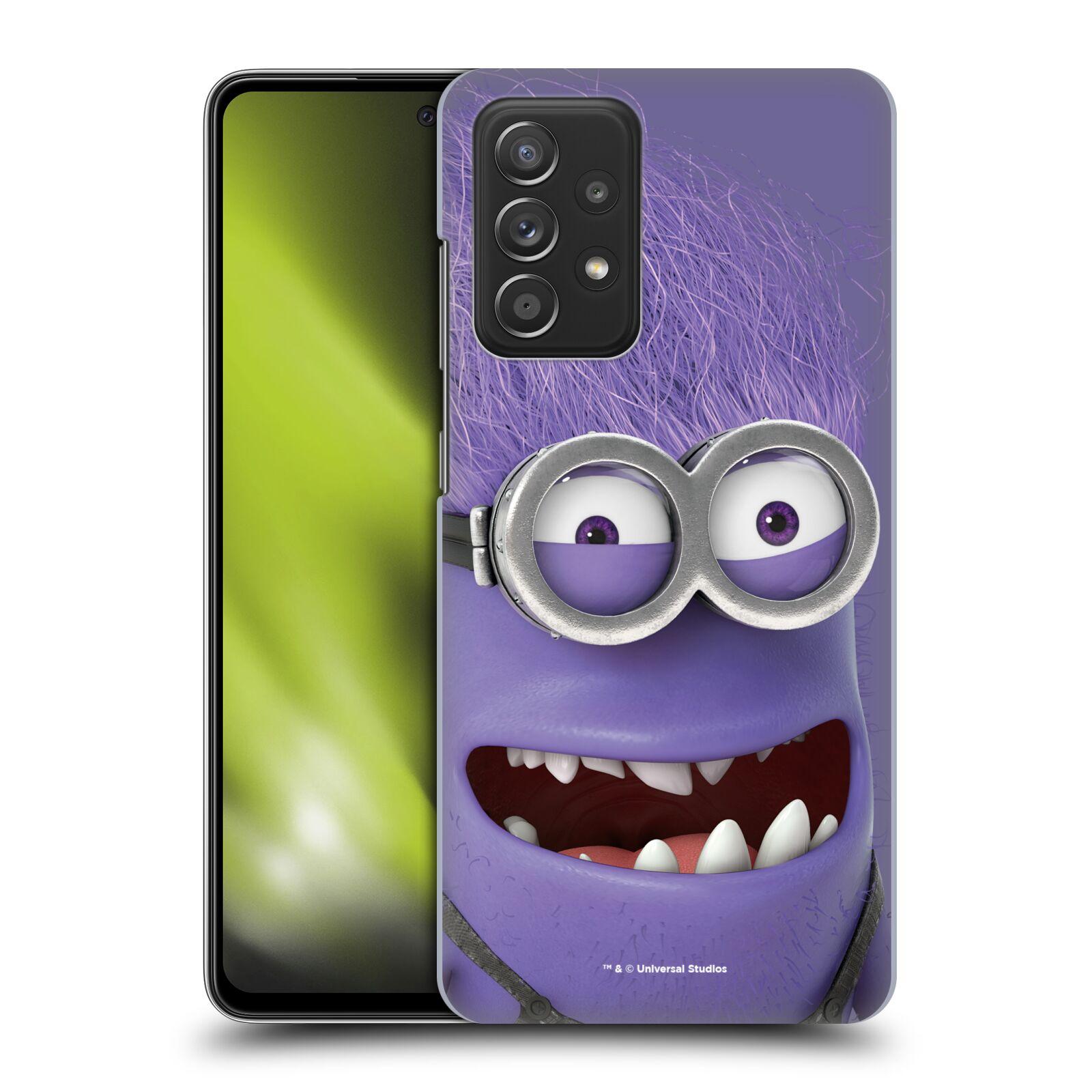 Plastové pouzdro na mobil Samsung Galaxy A52 / A52 5G / A52s 5G - Head Case - Zlý Mimoň z filmu Já, padouch - Despicable Me