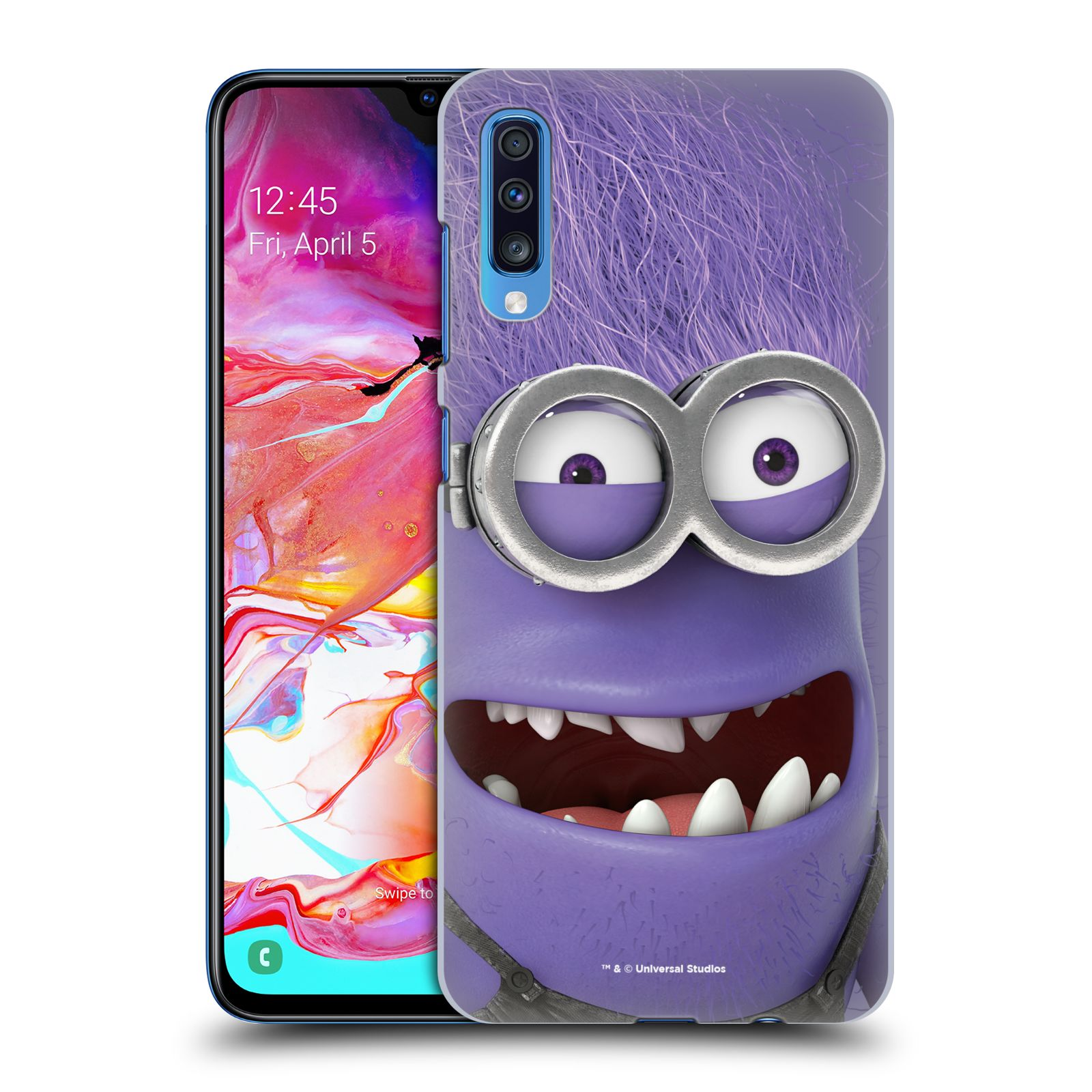 Plastové pouzdro na mobil Samsung Galaxy A70 - Head Case - Zlý Mimoň z filmu Já, padouch - Despicable Me
